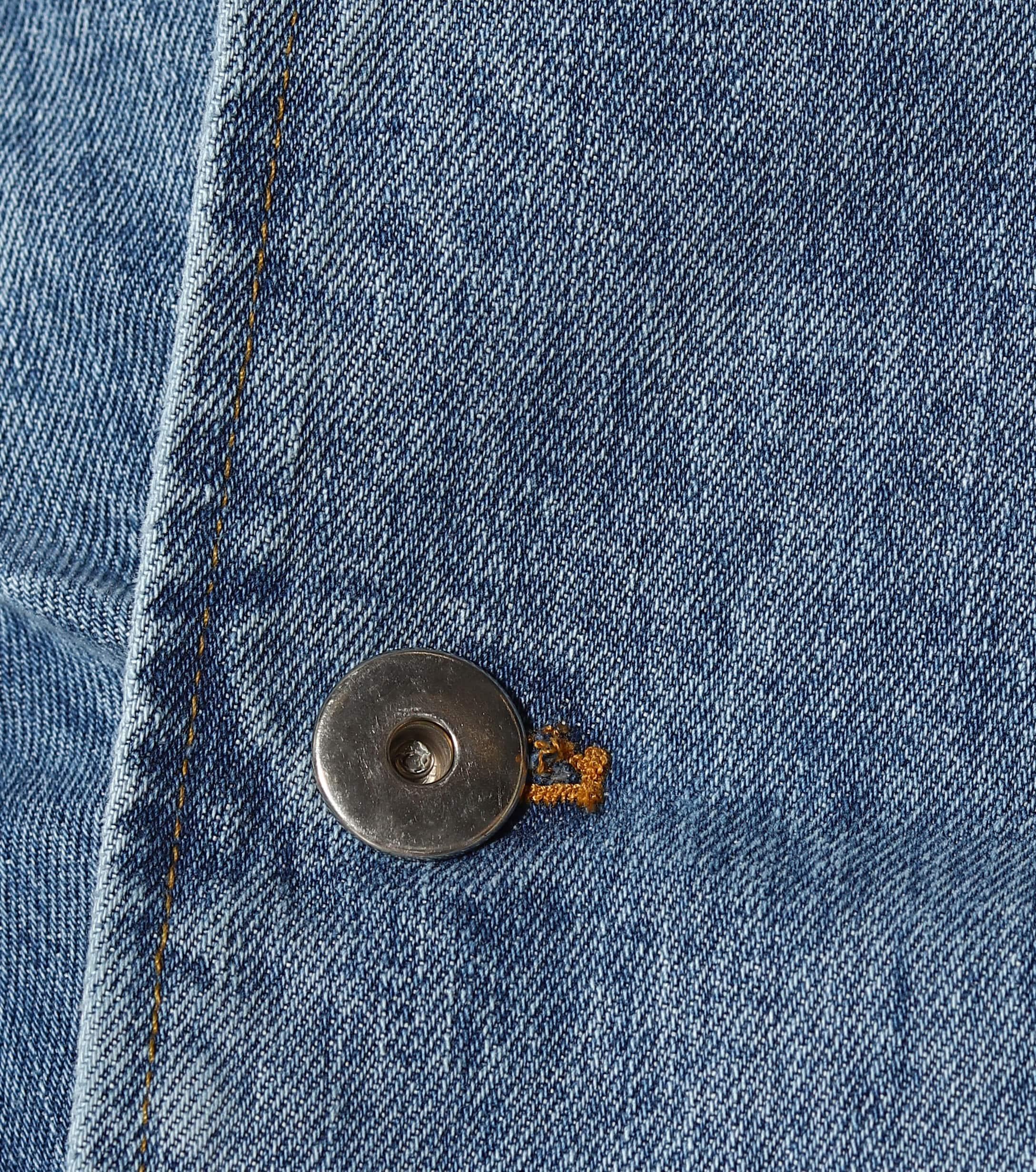 Mini-jupe en jean Jean Matthew Adams Dolan en coloris Bleu