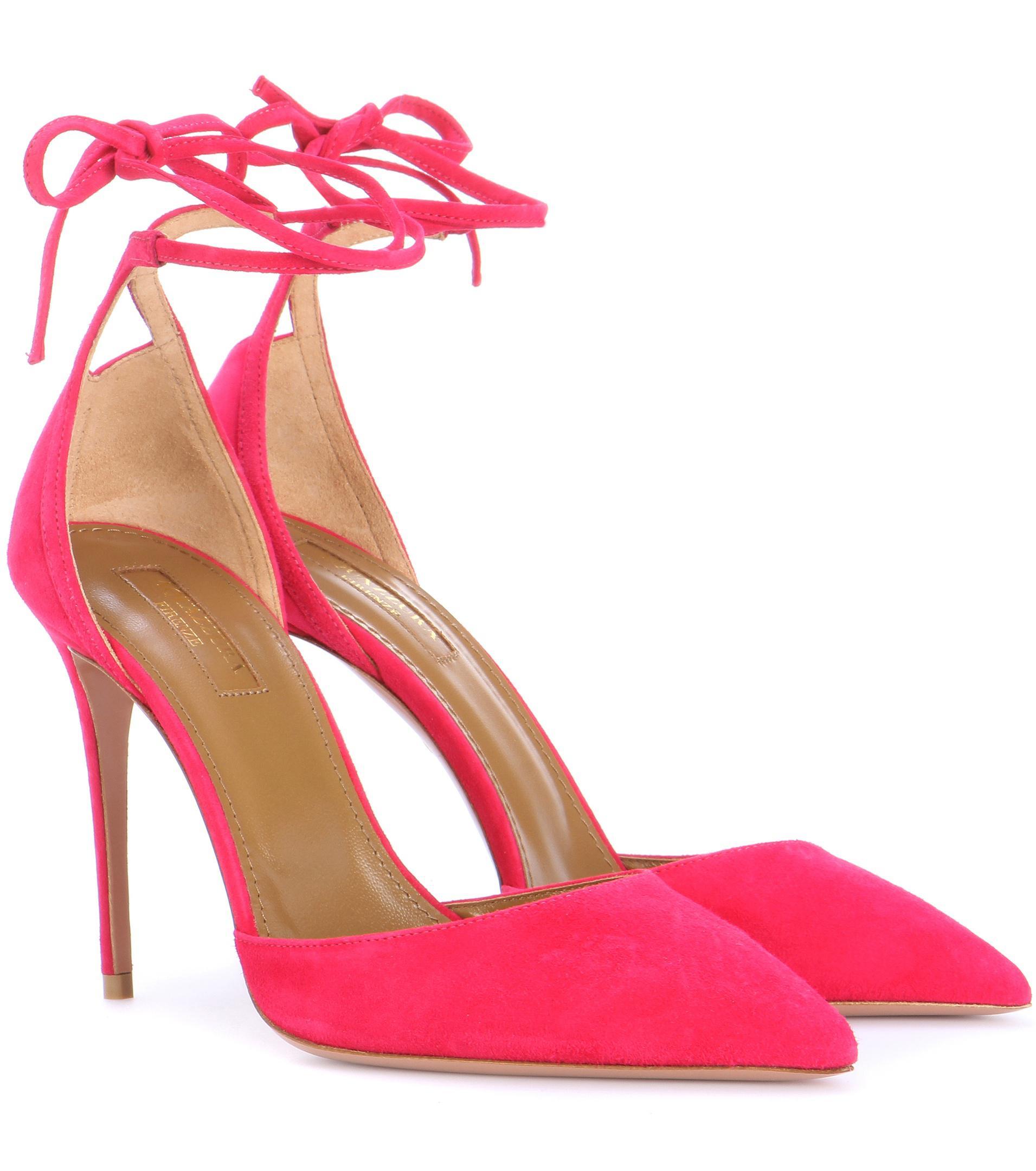 aquazzura pink