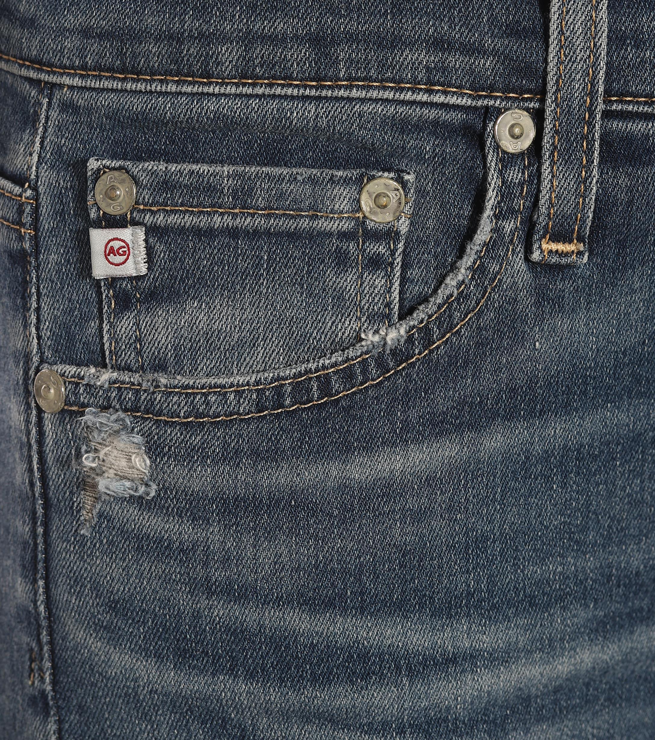 Jeans skinny The Farrah Ankle AG Jeans de Denim de color Azul