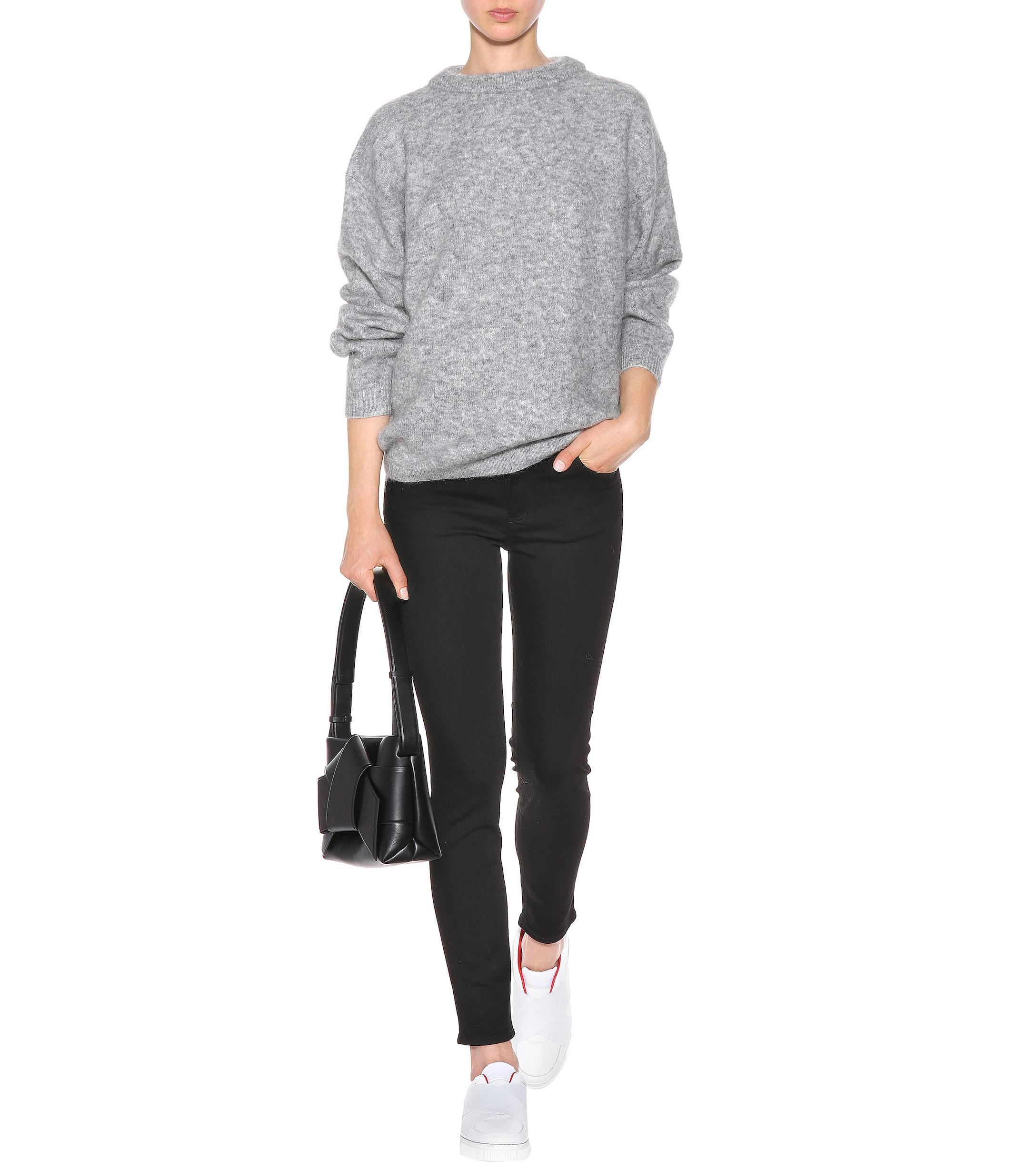 Acne Studios Denim Blå Konst Climb Stay Skinny Jeans in Black