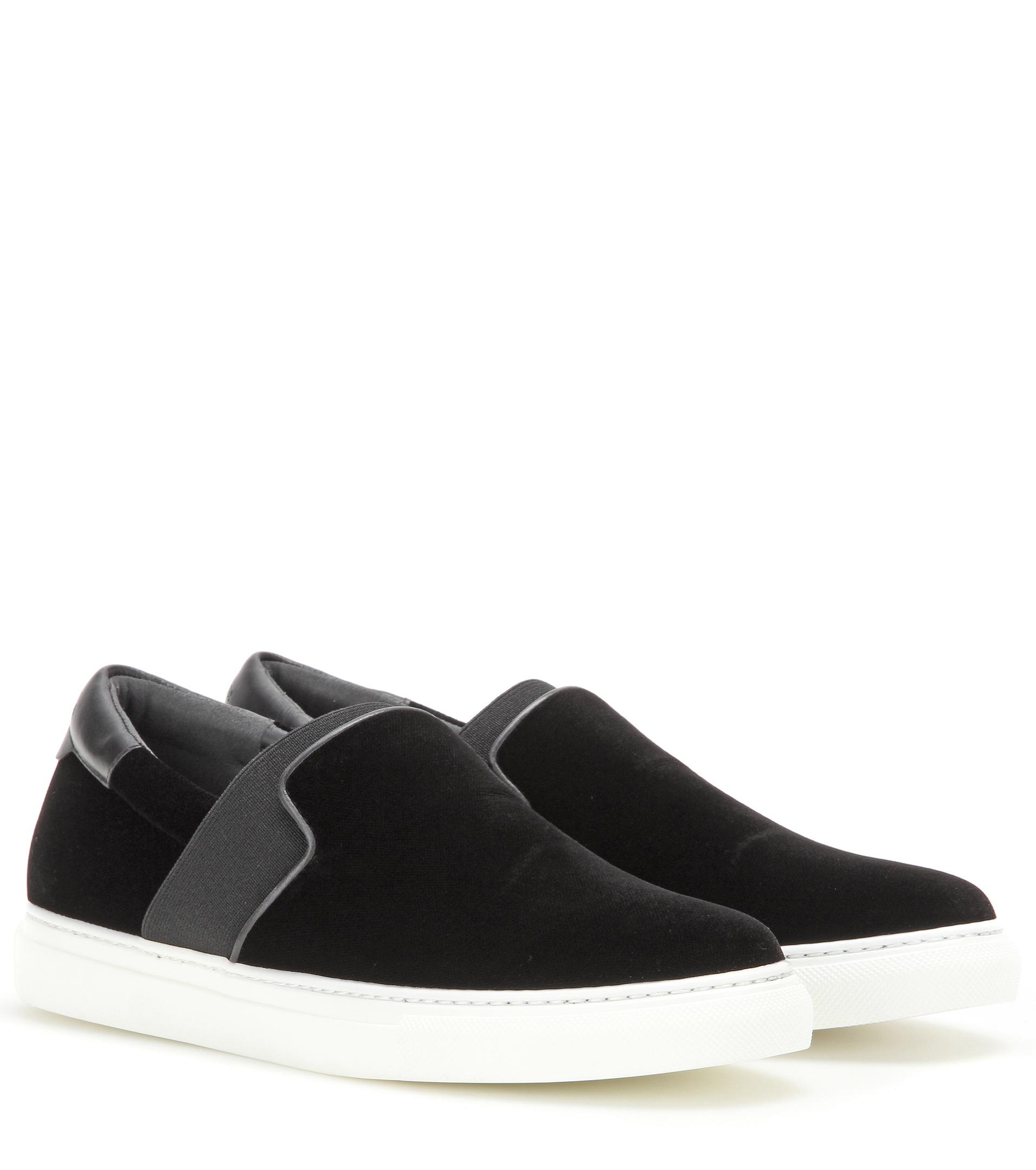 buy cheap low shipping clearance new arrival Balenciaga Velvet Slip-On Sneakers discount perfect outlet pay with visa buy cheap footlocker finishline SvEJJ2