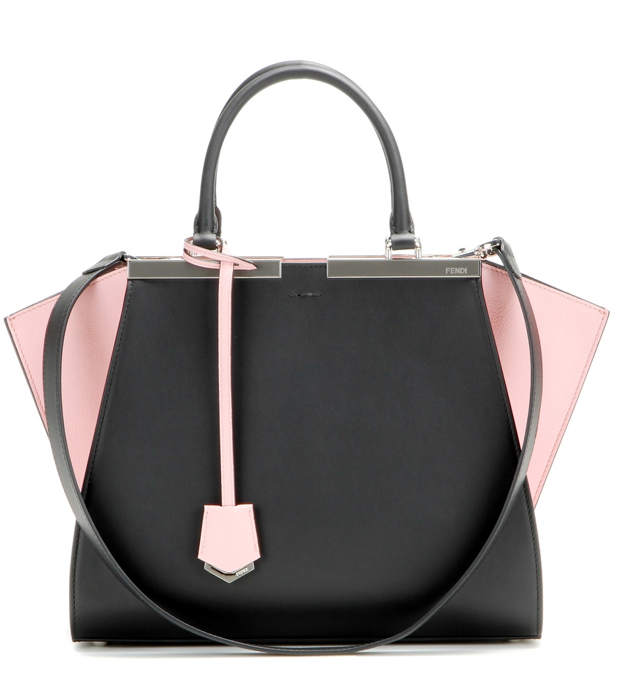 Fendi 3Jours Leather Tote Bag in Pink - Lyst 8ebb0d4331fef