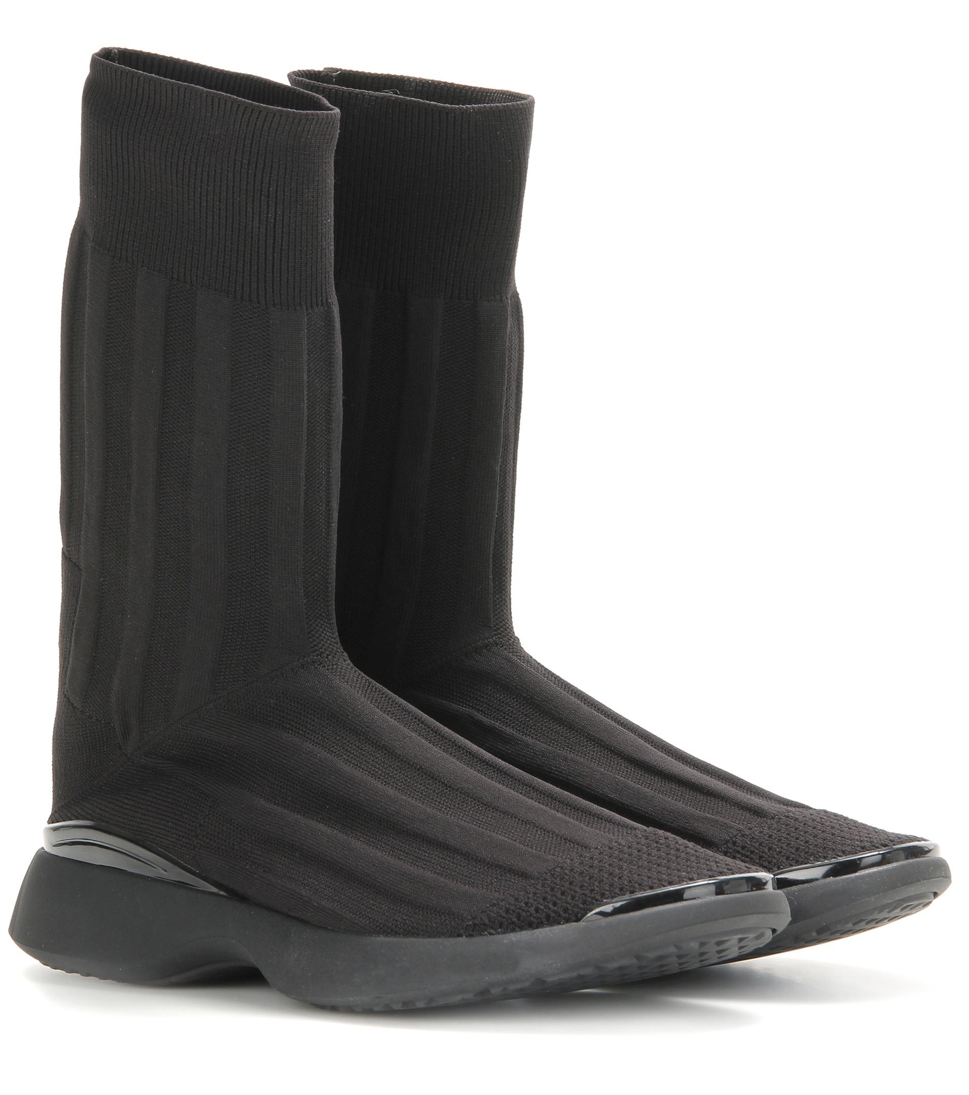 acne batilda knit boots in black save 12 lyst
