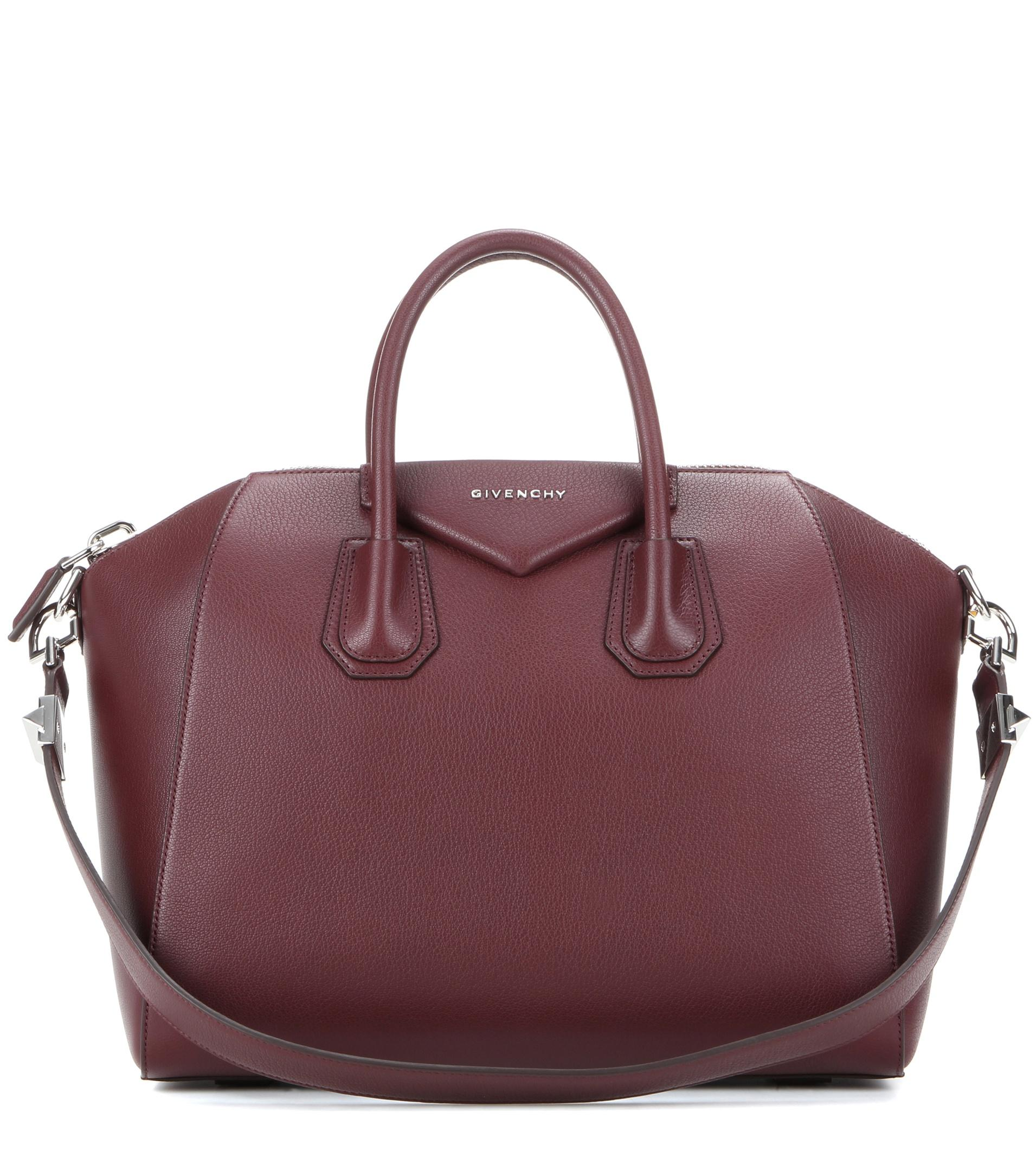 lyst givenchy 39 medium antigona 39 sugar leather satchel in. Black Bedroom Furniture Sets. Home Design Ideas