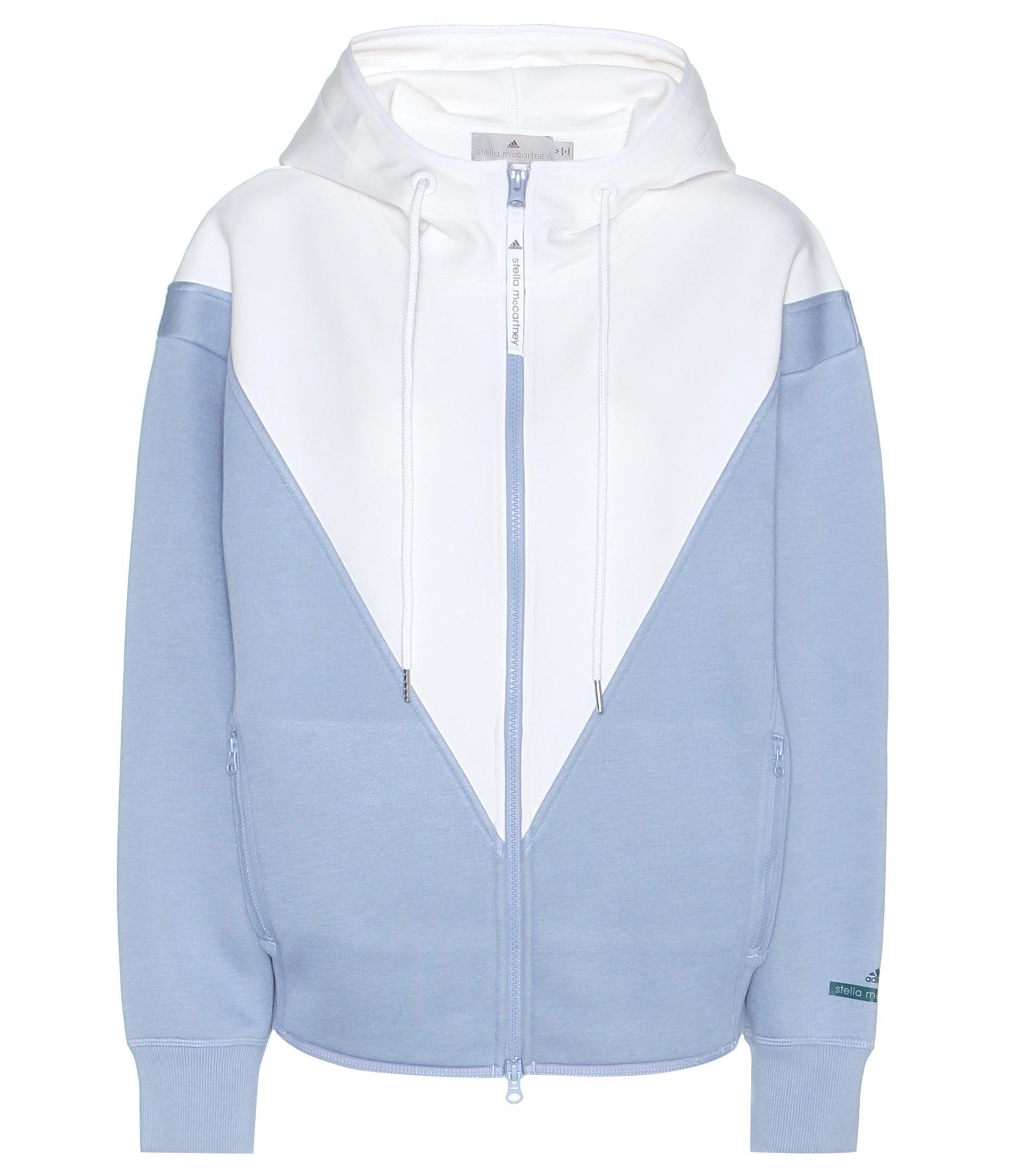 Adidas By Stella McCartney Blue Studio Hoodie