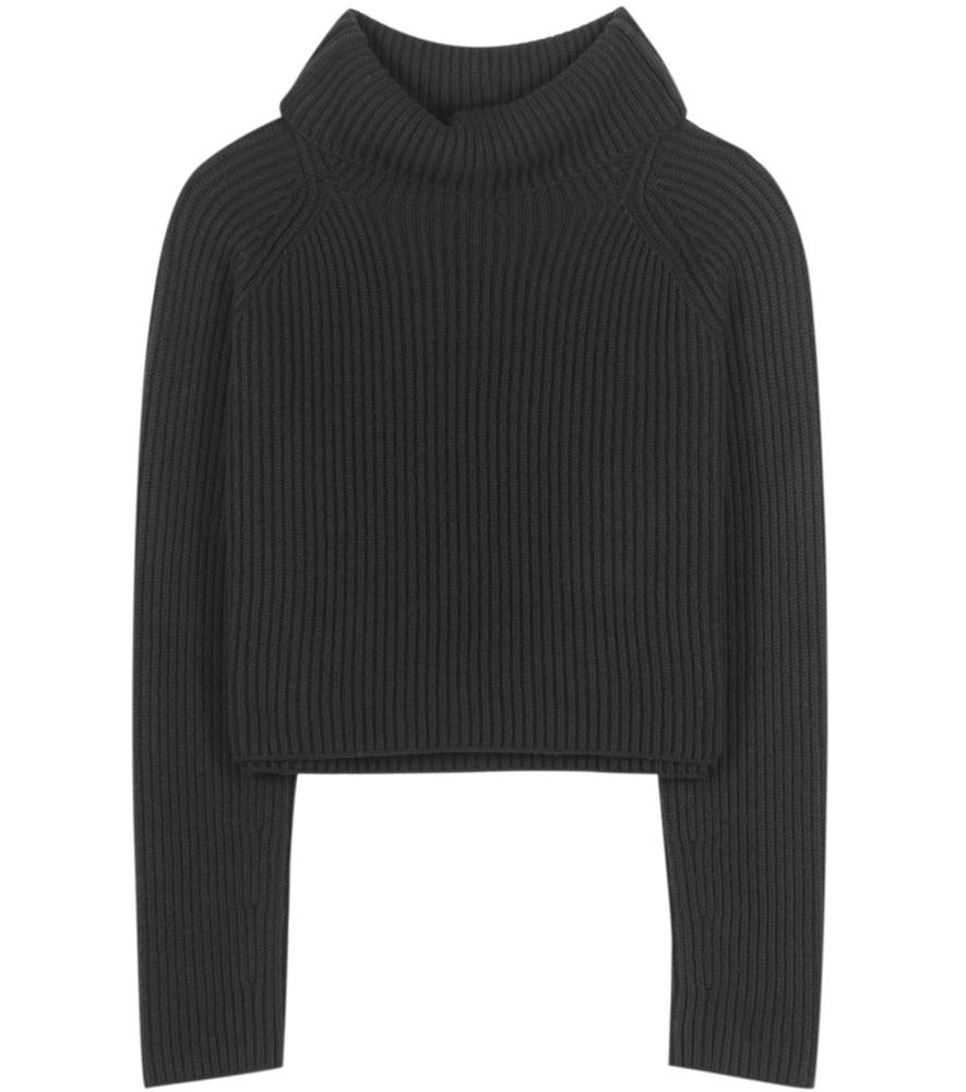 haider ackermann virgin wool turtleneck sweater in black. Black Bedroom Furniture Sets. Home Design Ideas