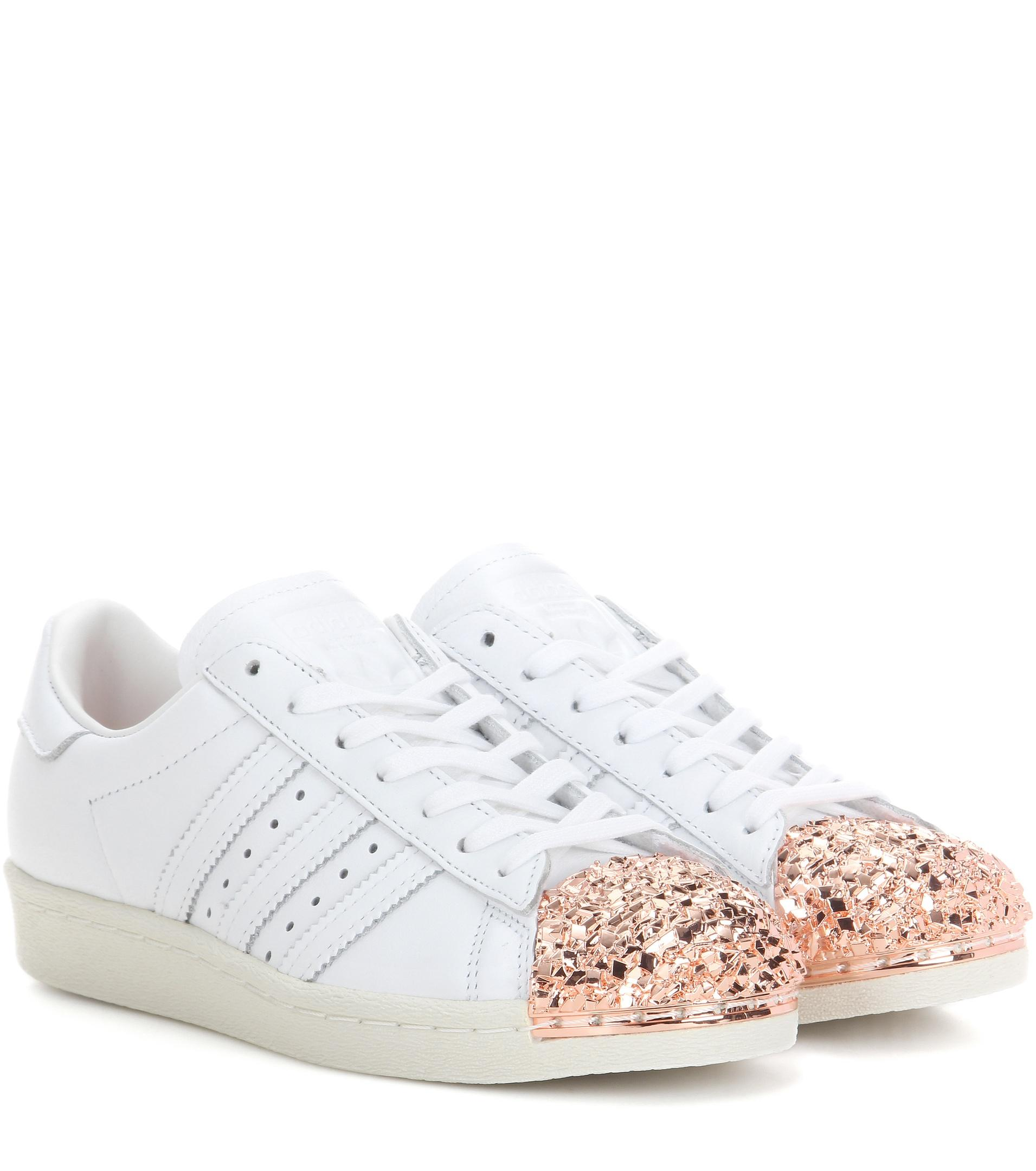 Women's White Superstar 80s 3d Embellished