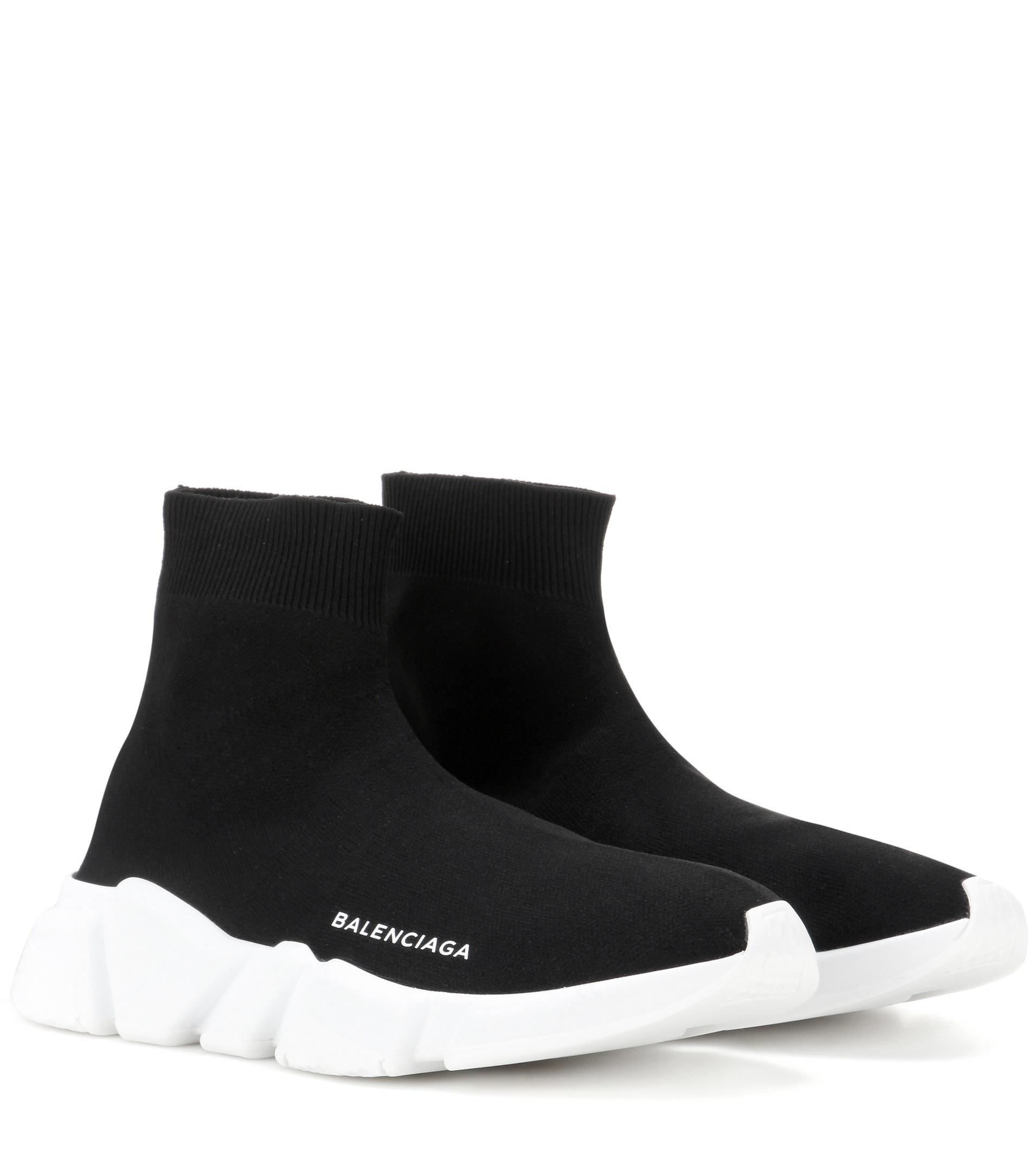 Lyst Balenciaga Speed Stretch Sneakers In Black