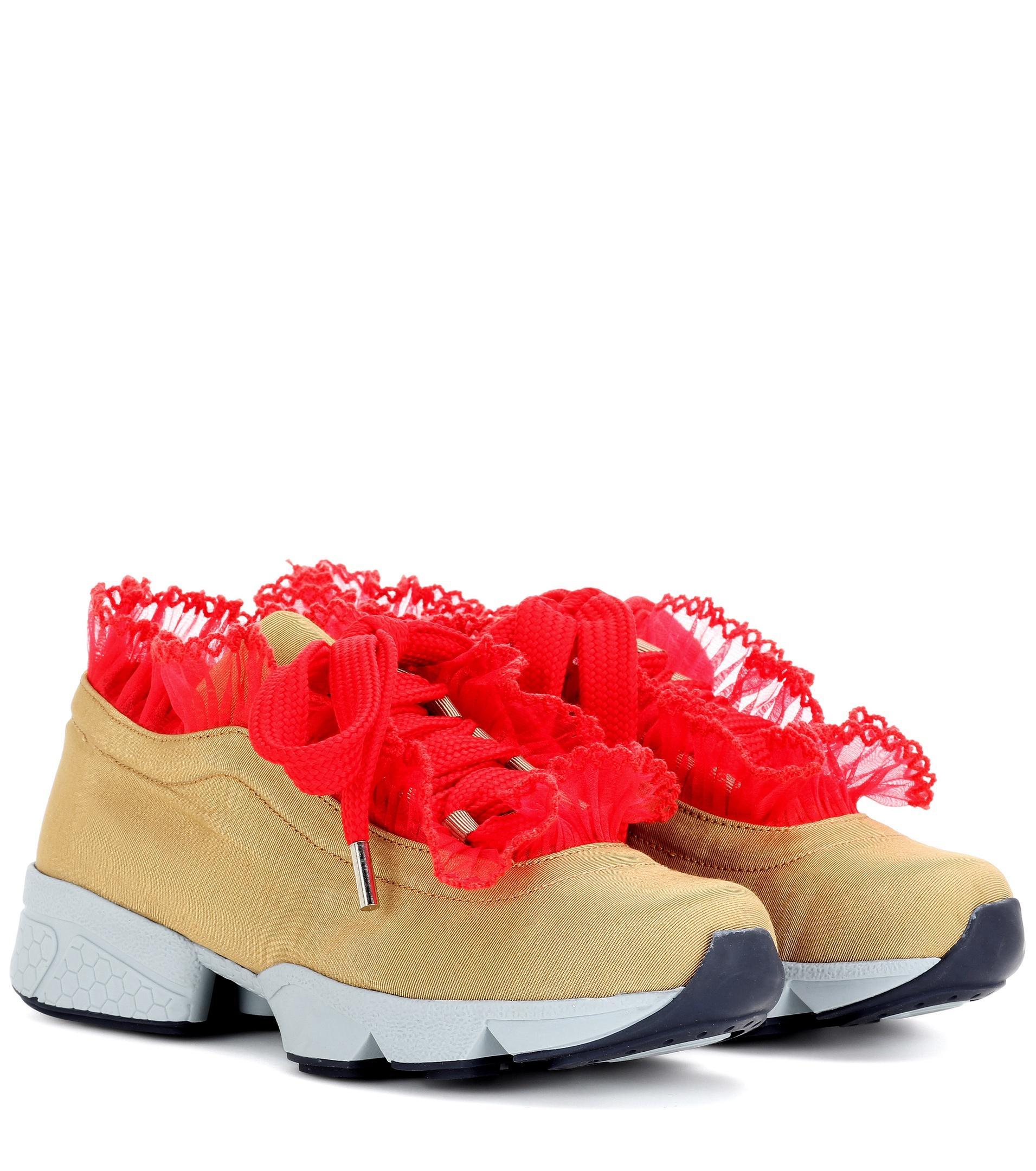 Ganni Harriet Sneakers in Beige