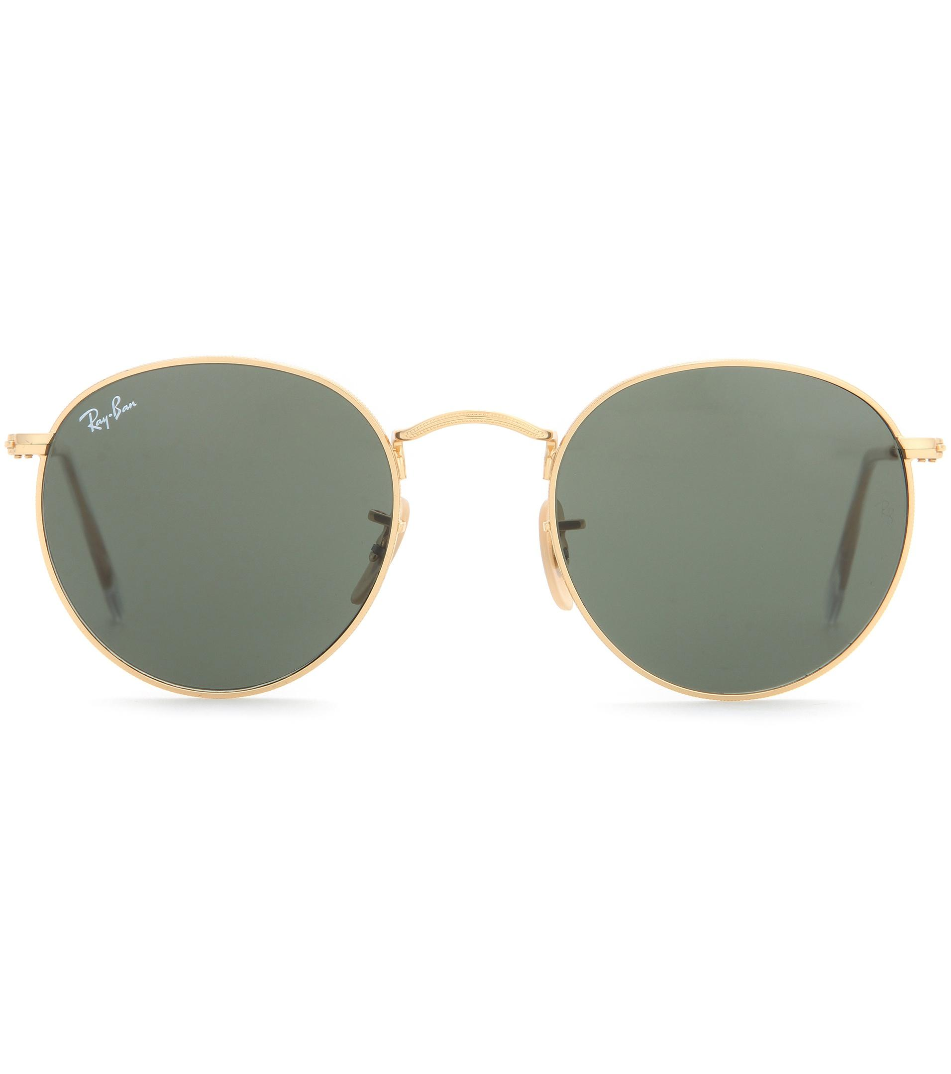 cd80117b516f Lyst - Ray-Ban Rb3447 Round Sunglasses