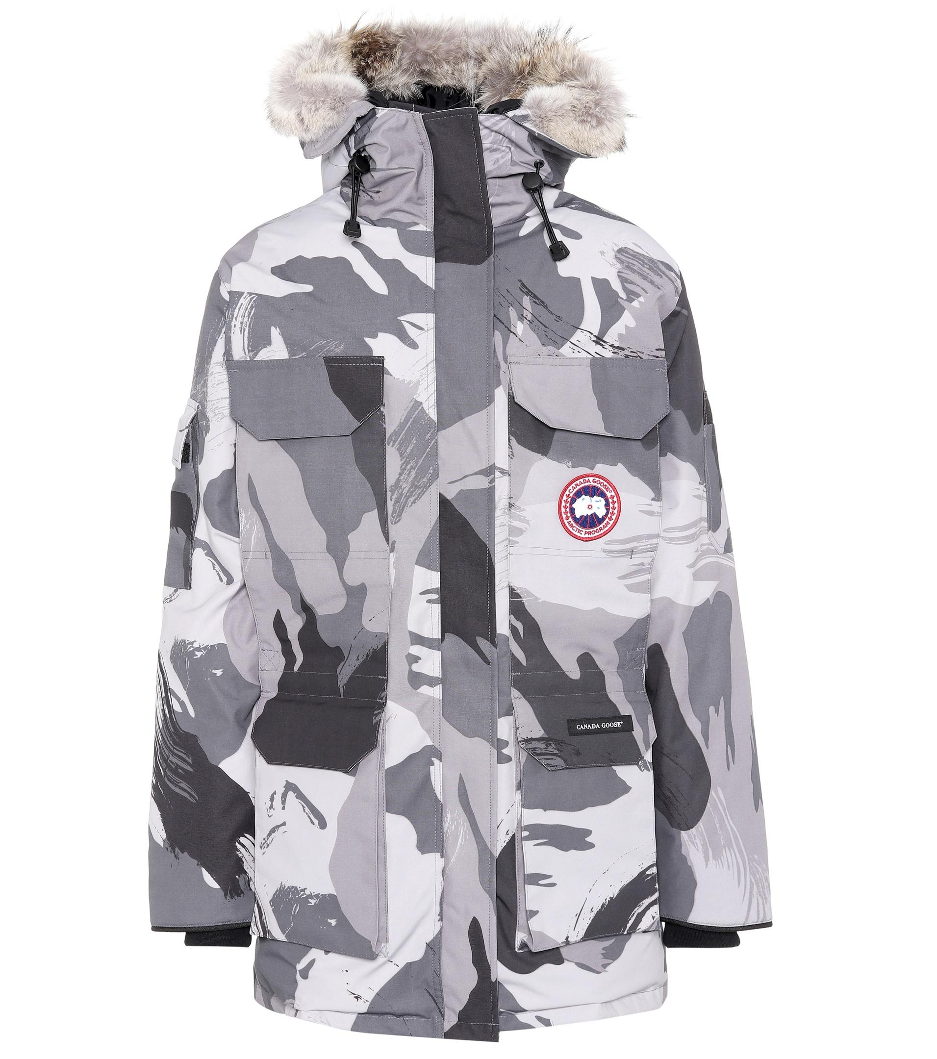 Canada Goose Shop Uk Canada Goose Women Expedition Parka Grey Brush Camo