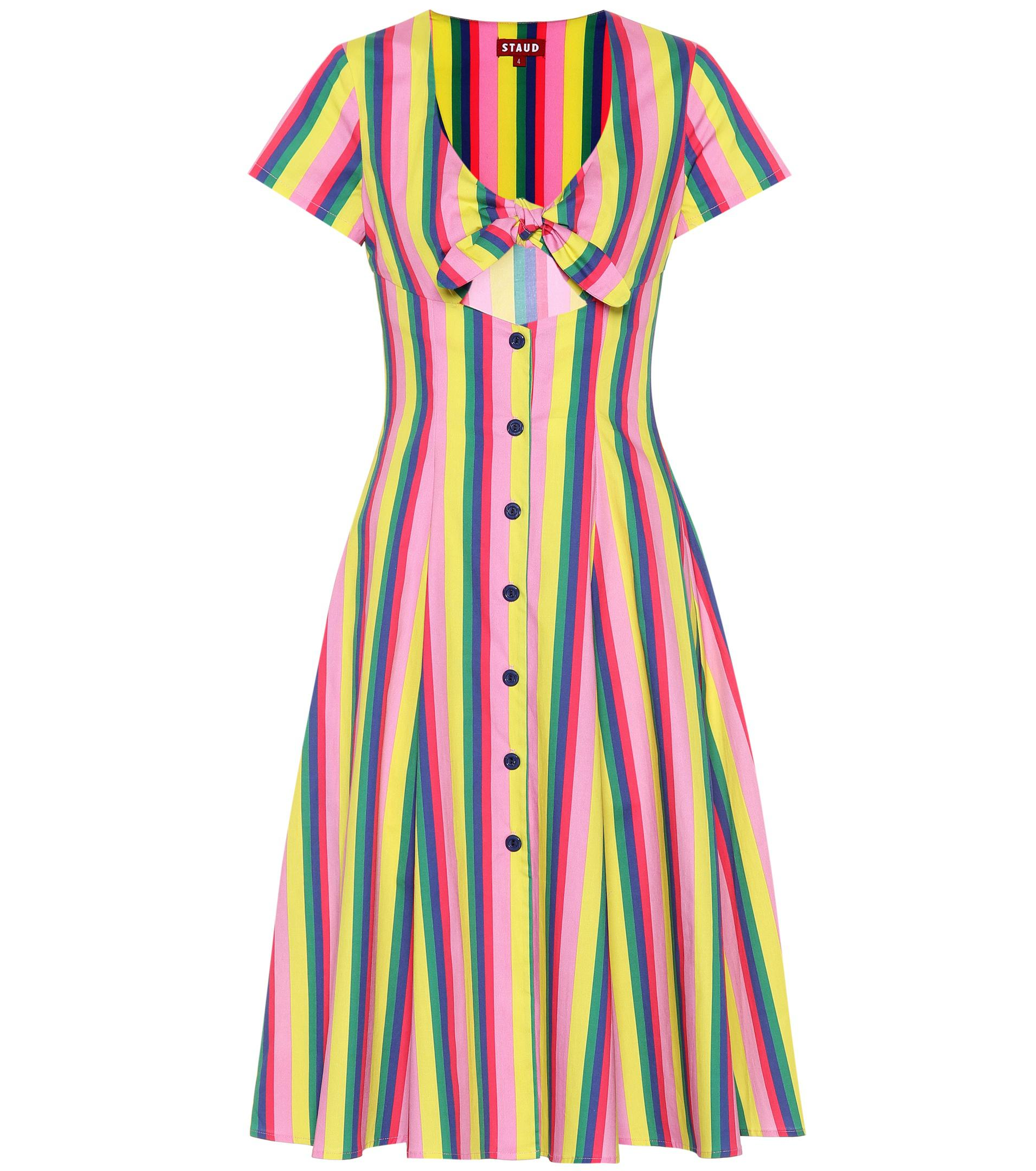 Top Quality Cheap Price alice stripe dress - Multicolour Staud Buy Cheap Inexpensive Nicekicks Sale Online Free Shipping Best Place pS69hEbOH