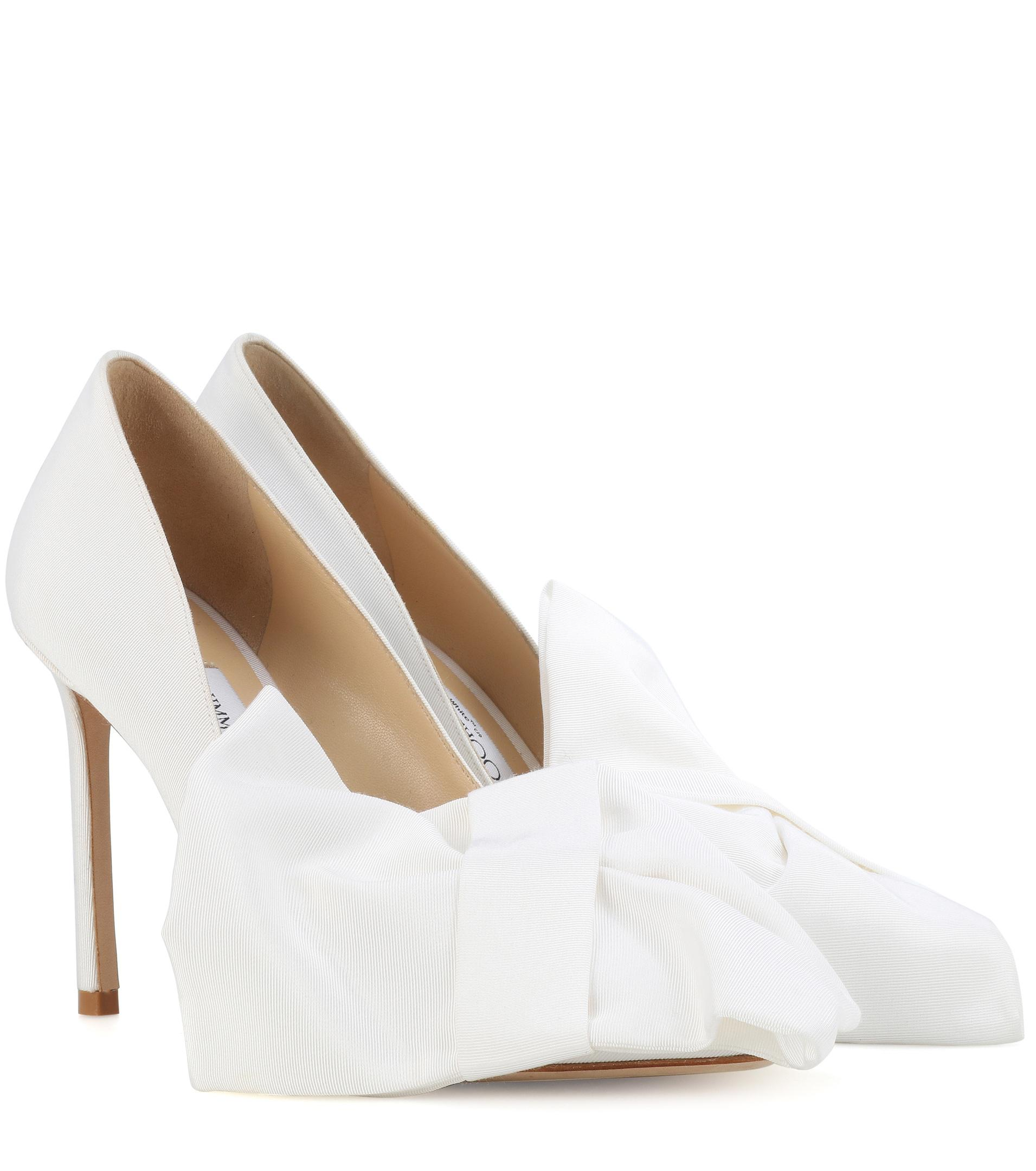 Jimmy Choo X Off-white Mary Bow 100