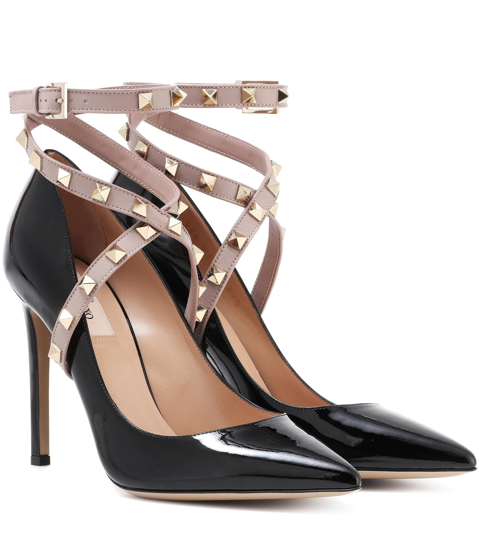 low priced b1d04 5c5e4 valentino-black-Rockstud-Patent-Leather-Pumps.jpeg