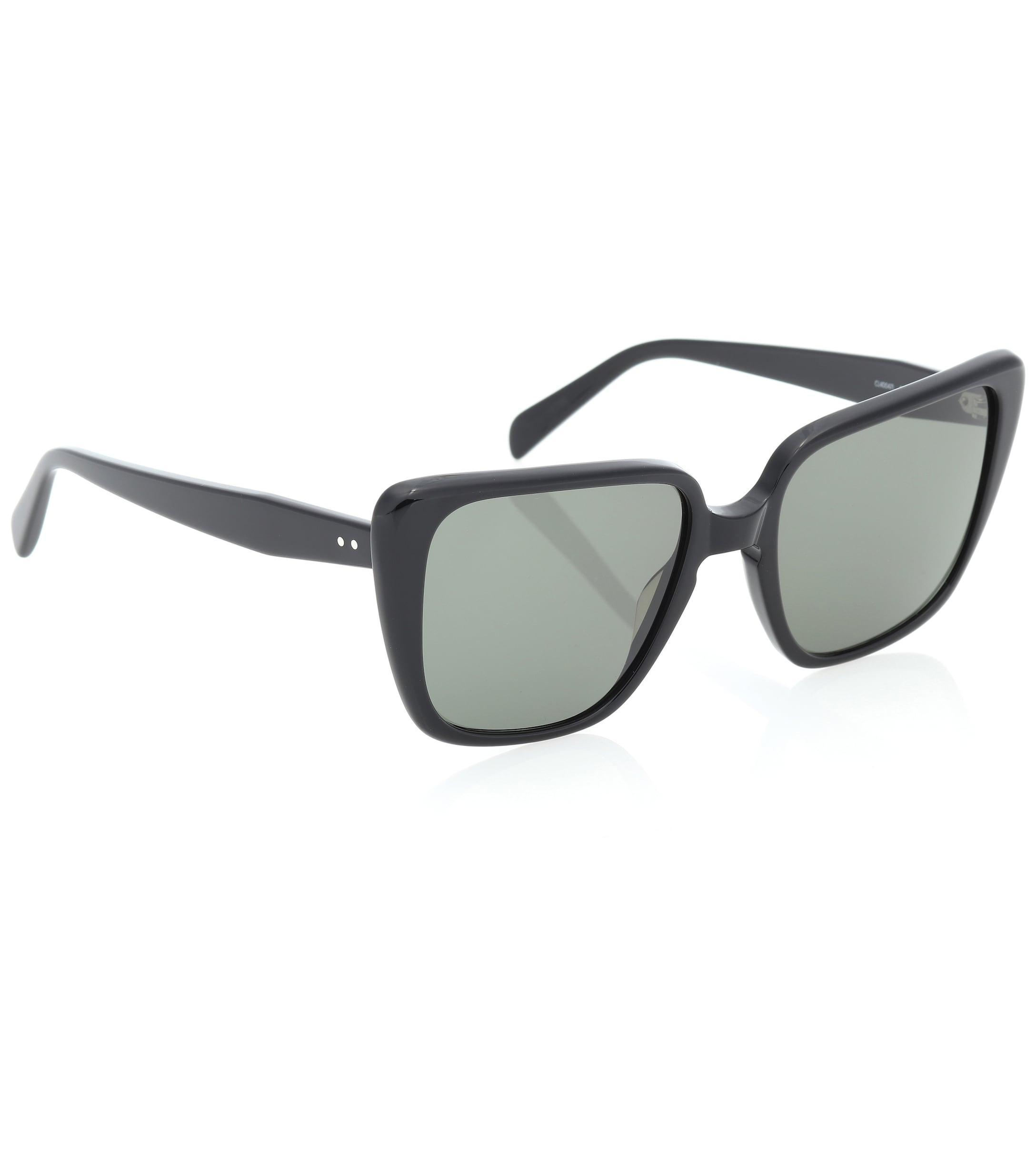 46f260712e0 Butterfly Lyst Rectangular In Céline Sunglasses Black qf4fp7w