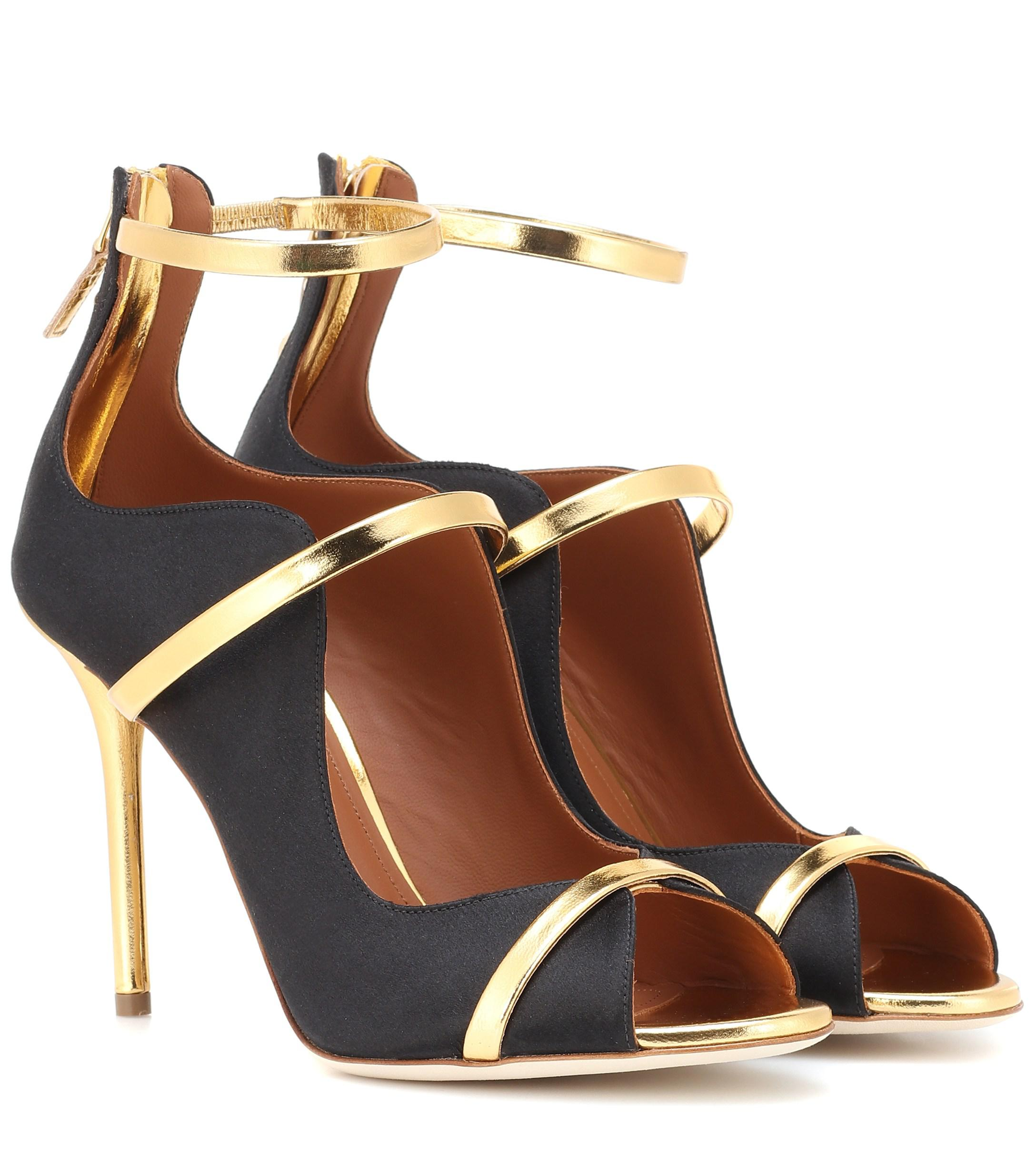 88a17cceb85 Lyst - Malone Souliers Mika Sandals in Black