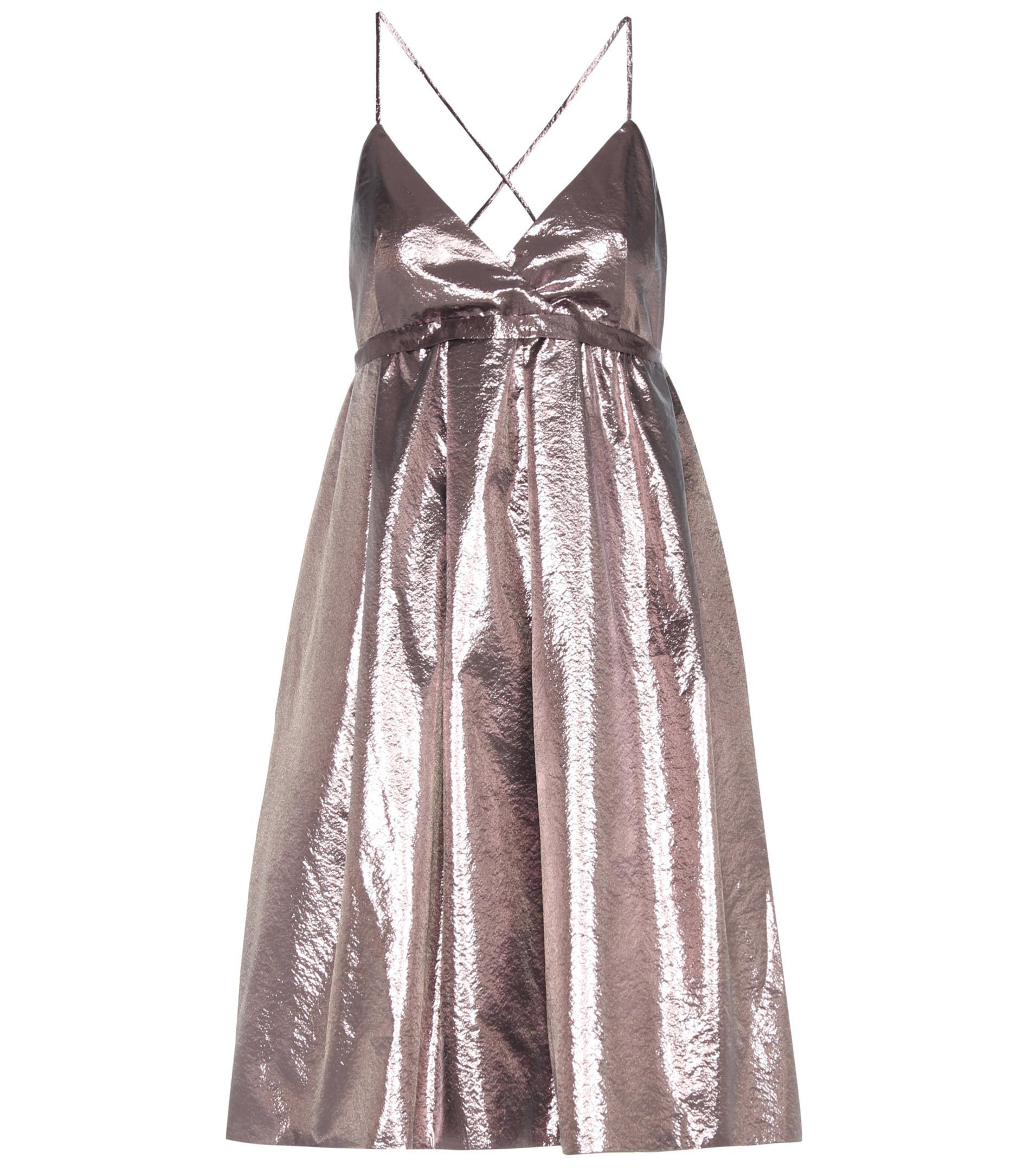 Exclusive to mytheresa.com - wool and silk dress Victoria Beckham W73r7ASfXX