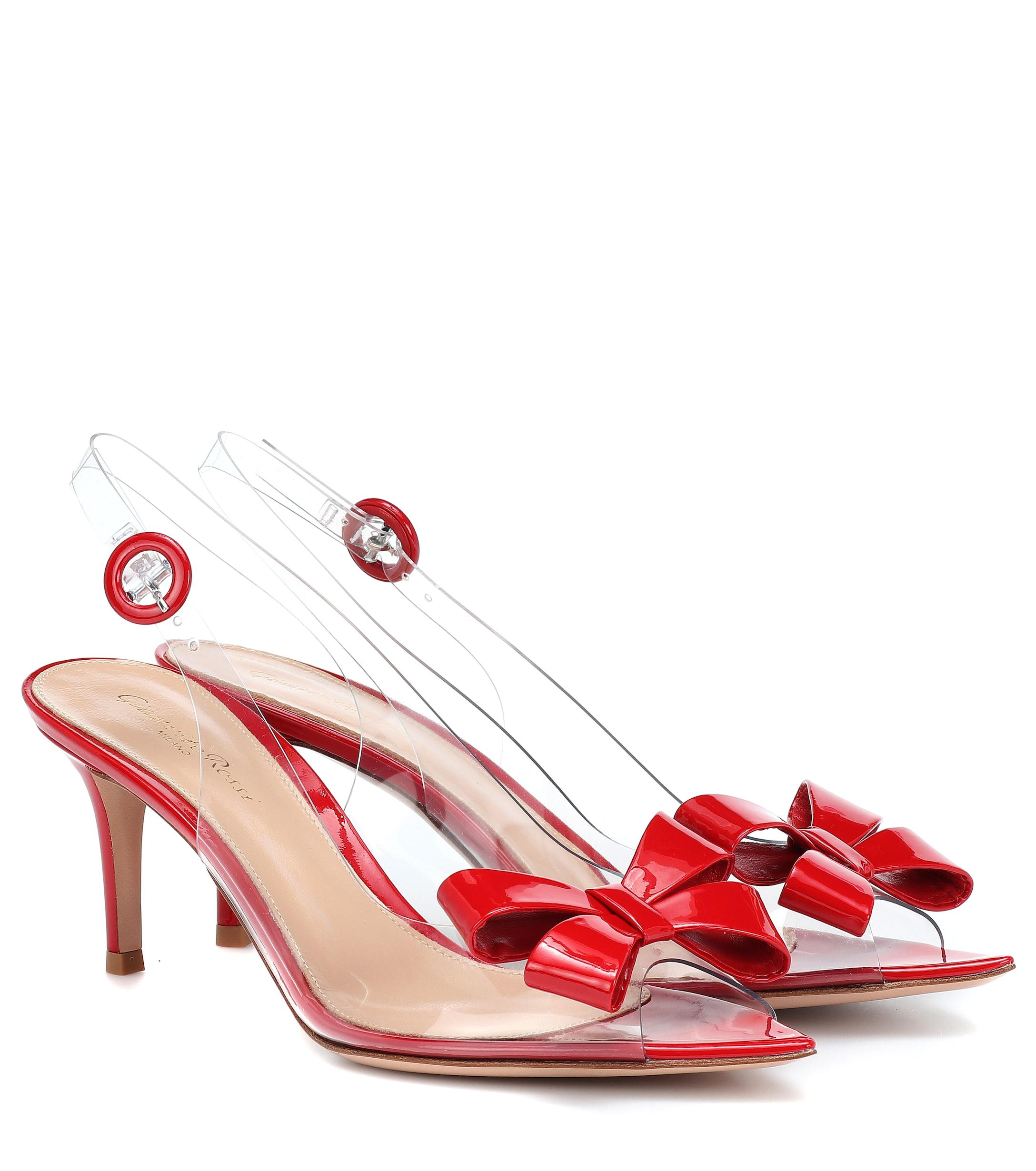 2dde236cdd4 Gianvito Rossi. Women s Red Exclusive To Mytheresa – Plexi 70 Slingback  Sandals