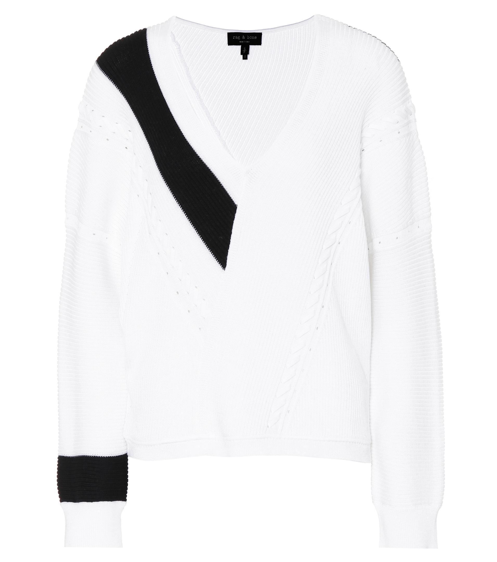 Cricket V-neck cotton sweater Rag & Bone Cheap Sale The Cheapest Reliable Sale Online JazClhr