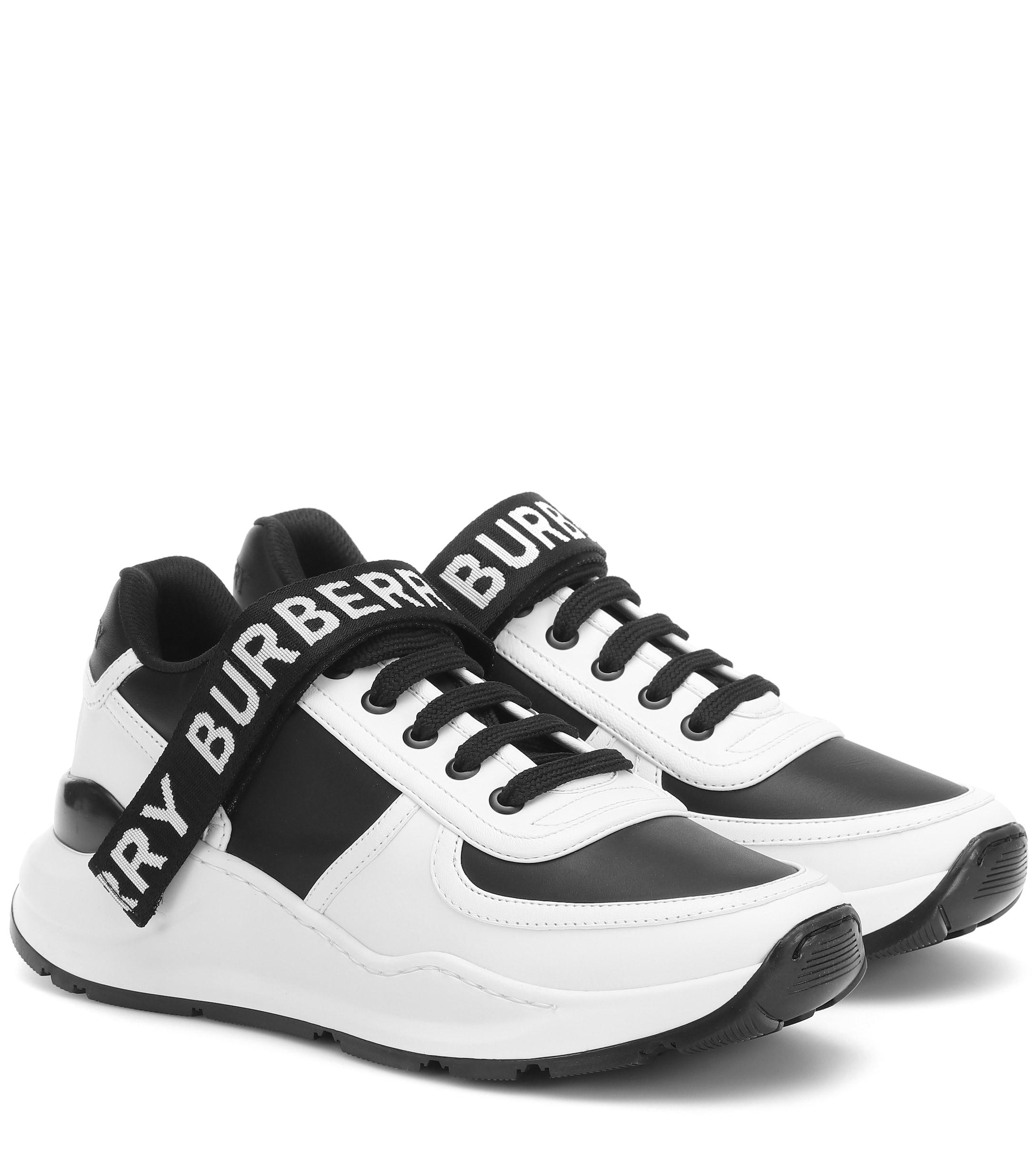 Burberry Ronnie Sneakers In White