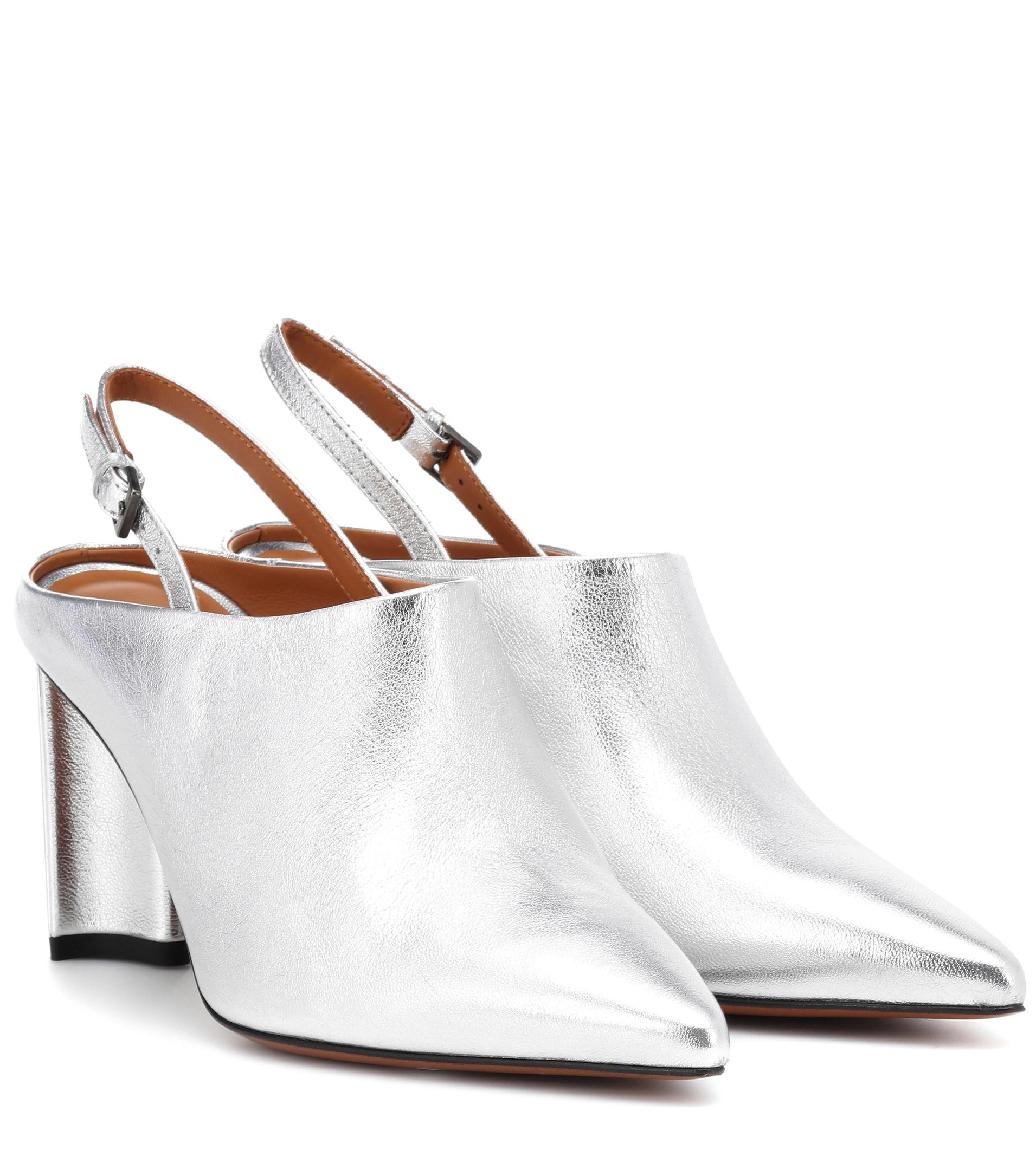 Lyst Exclusive Mytheresa Leather Slingback Clergerie – To Kyra vnwm0OyN8