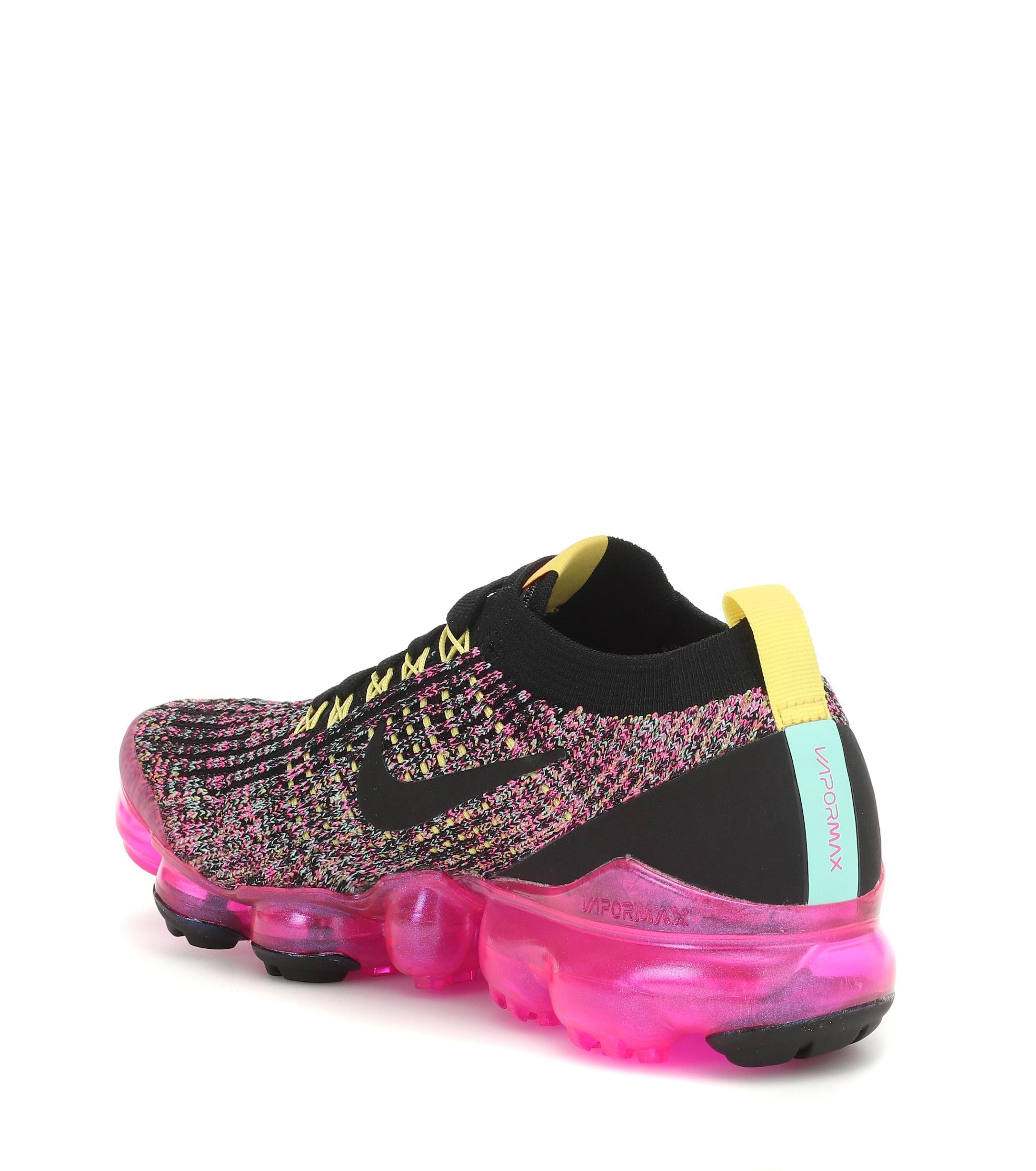 Zapatillas Air VaporMax Flyknit 3 Nike de Caucho de color Negro