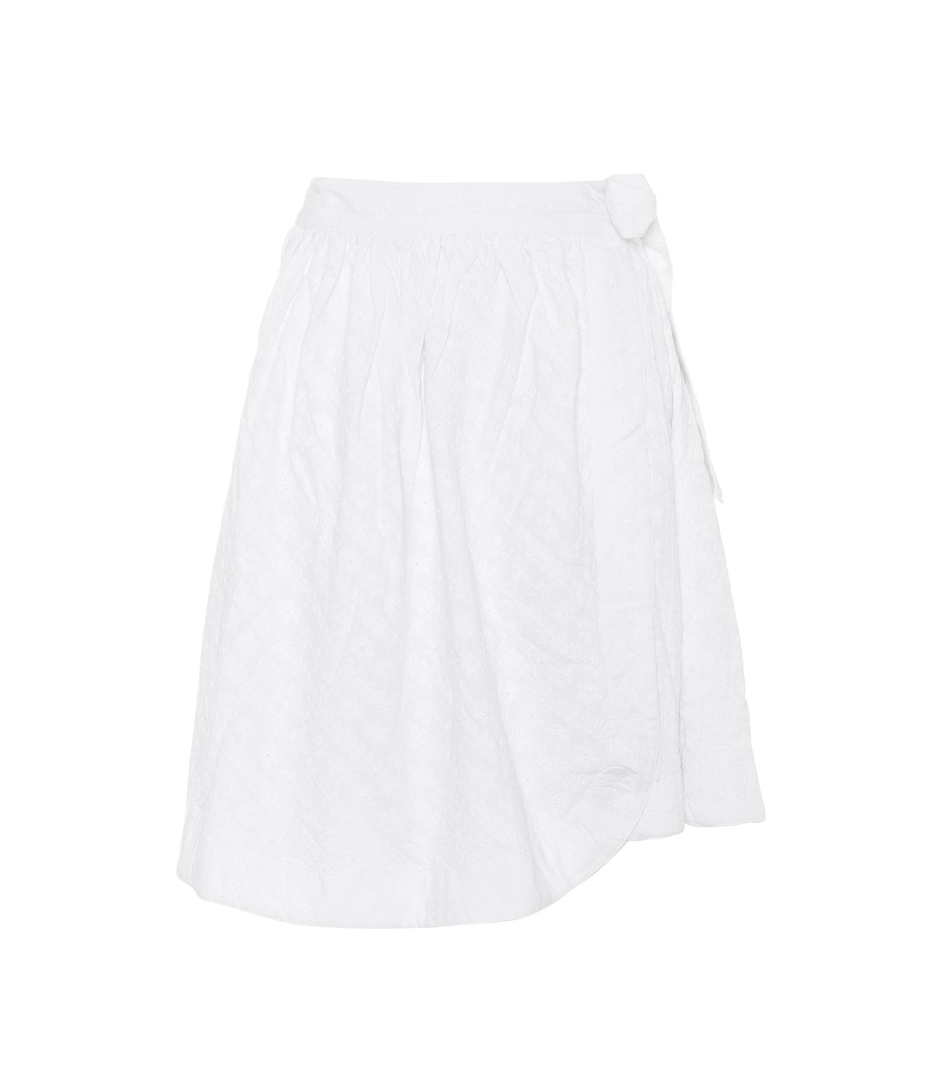 fait m'a en lyst Elle jupe blanc Sita en coton portefeuille fUS5wxSq