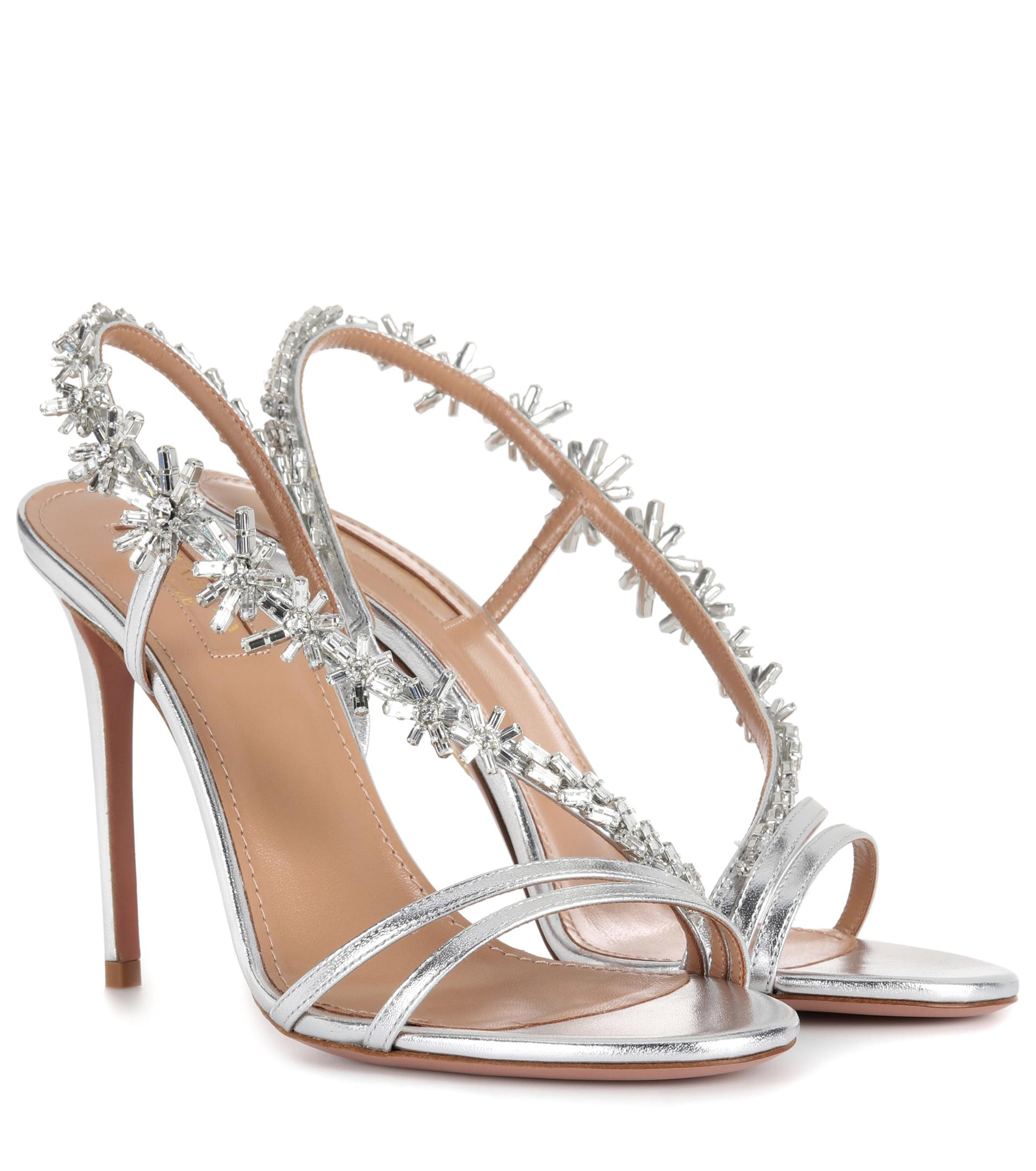 Aquazzura Chateau 105 sandals free shipping Manchester sale the cheapest pre order sale online free shipping geniue stockist ucFD5M