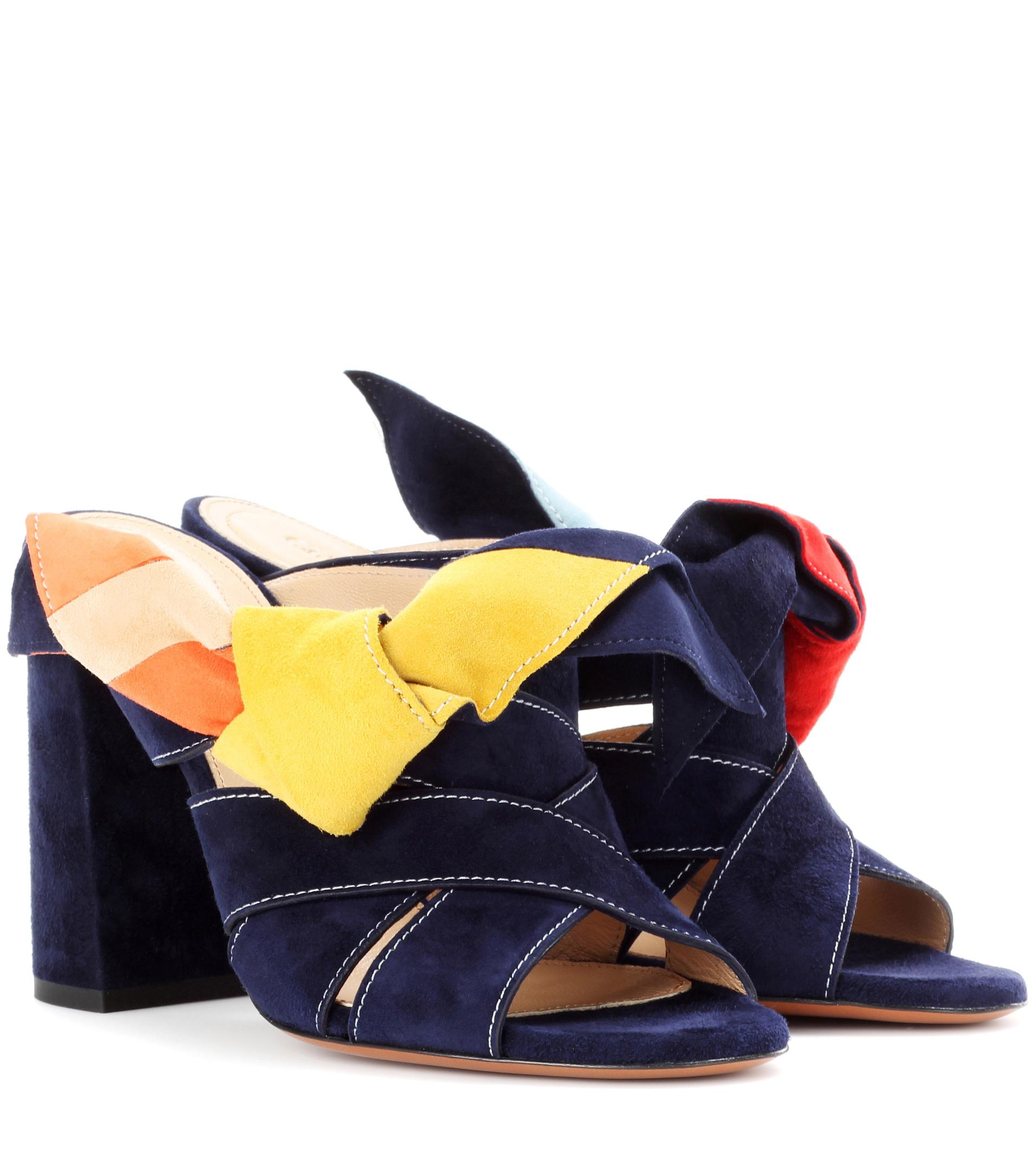 Manchester Great Sale Cheap Price Sale For Sale Chloé Nellie suede mules 7XrXteb