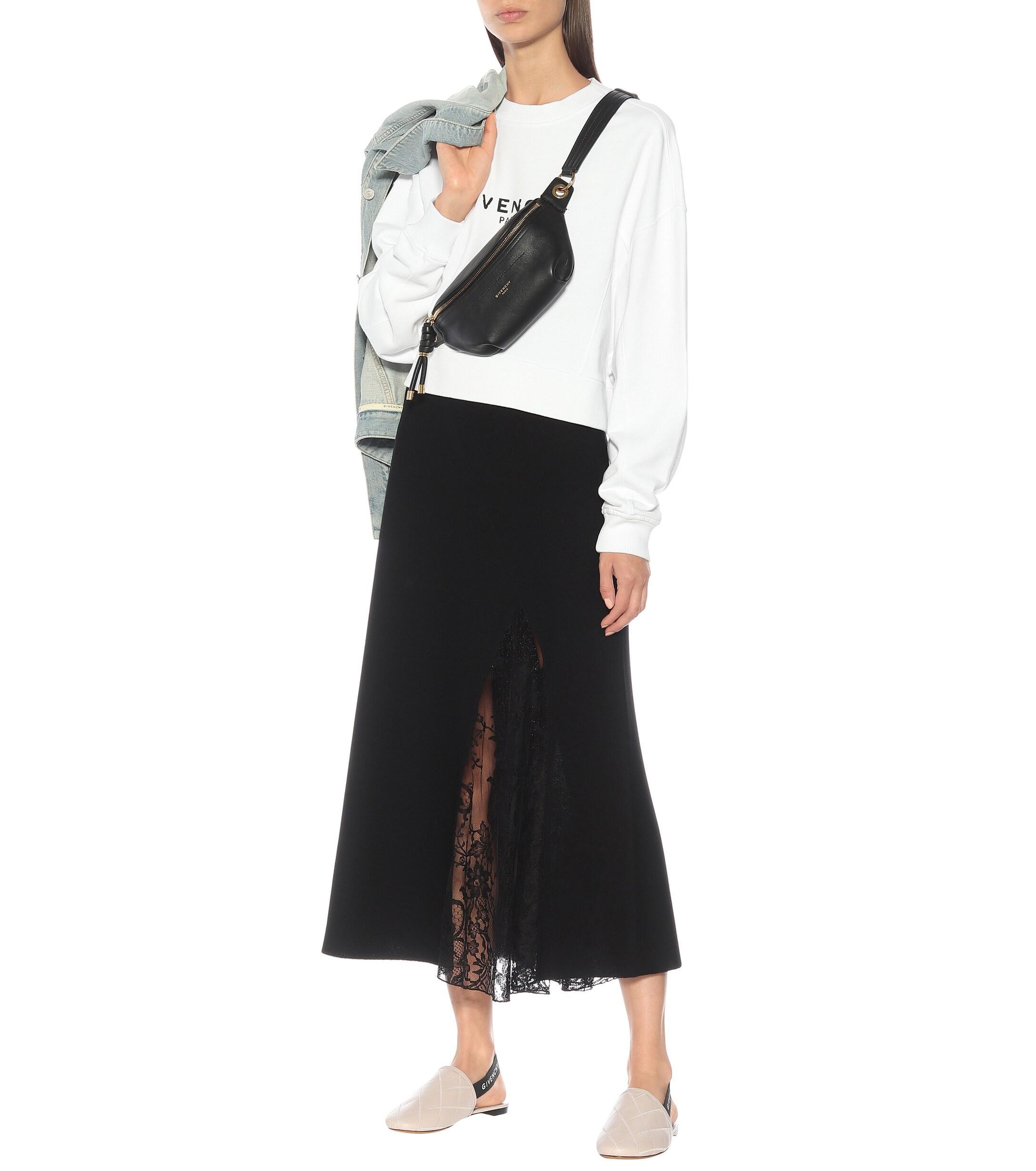 Givenchy Rivington Flat Leather