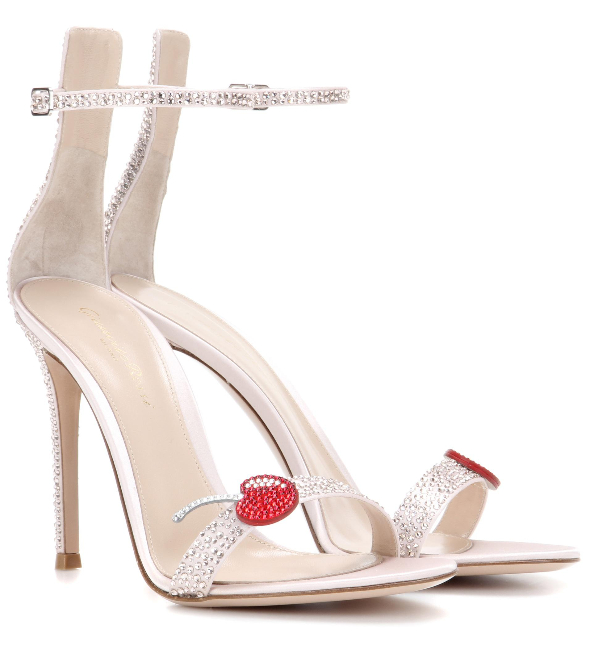 Gianvito Rossi Cherry 70 Sandals sale brand new unisex low price fee shipping sale online 25Dh21nVP