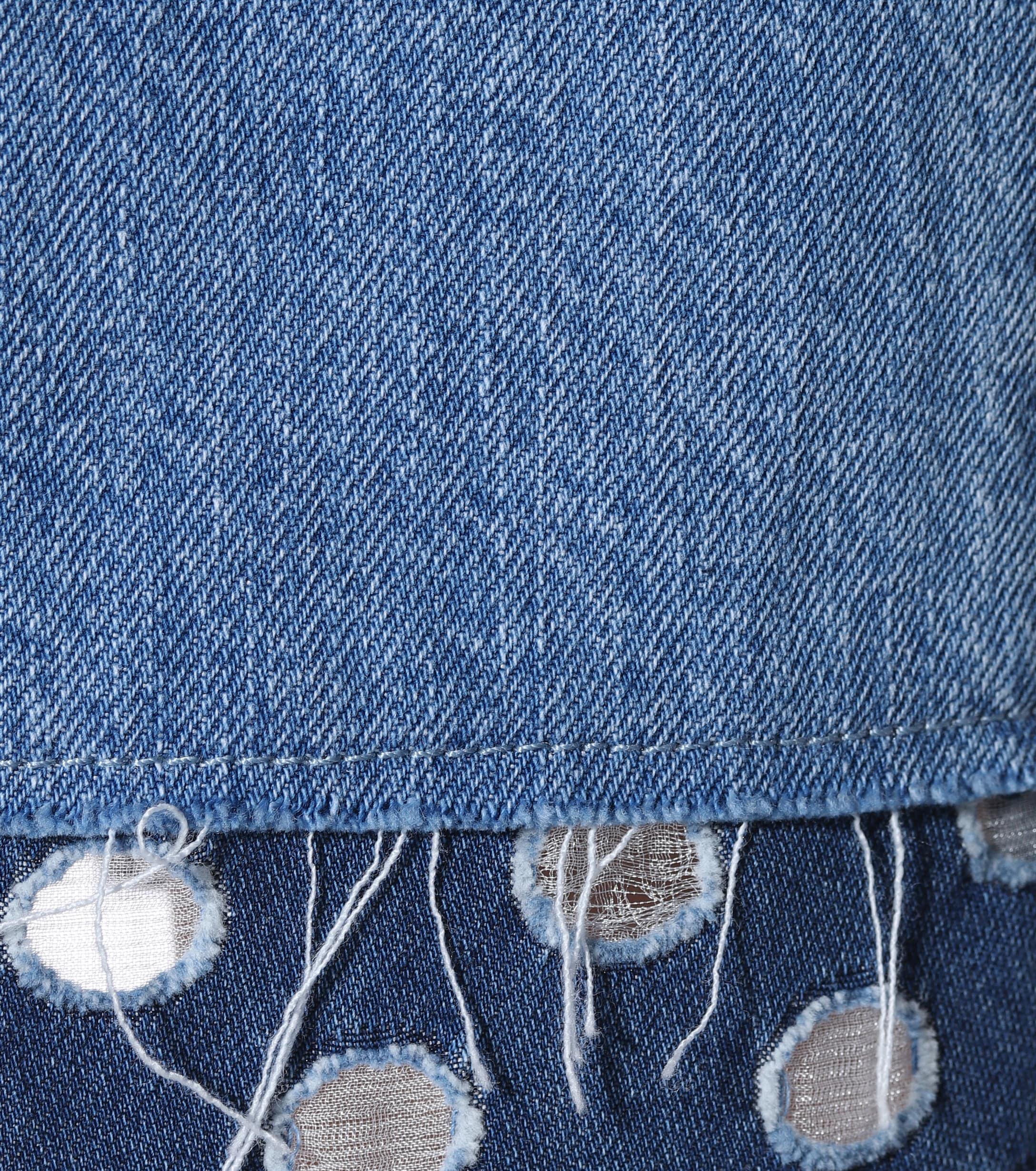 J Brand Denim Joan High-rise Wide-leg Jeans in Blue