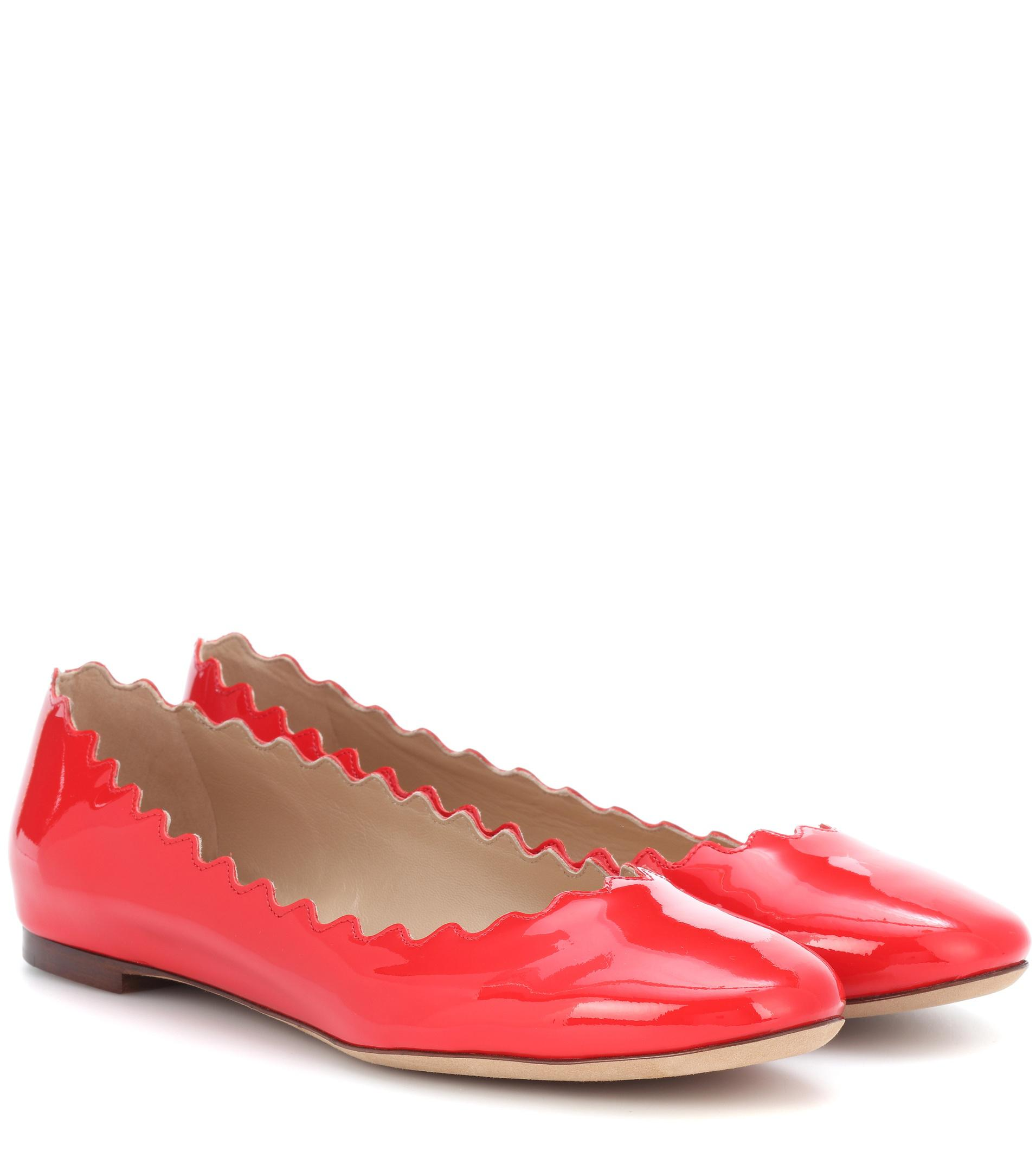 Free Shipping Choice Very Cheap For Sale Chloé Lauren Patent Leather Ballerina Factory Outlet Online Latest For Sale EzMZQD