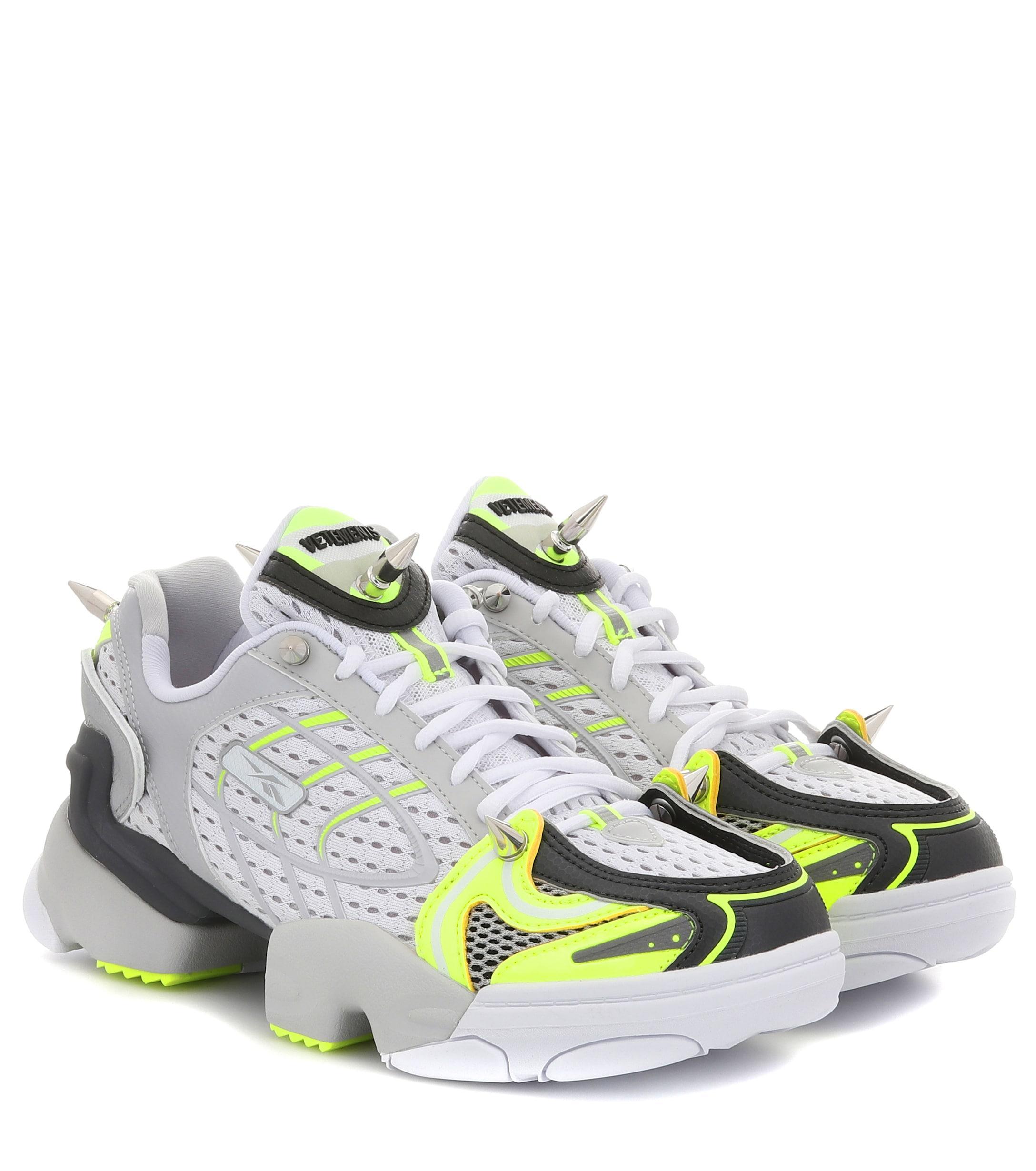 8cfc9796ccac Vetements X Reebok Running Sneakers - Reebok Of Ceside.Co