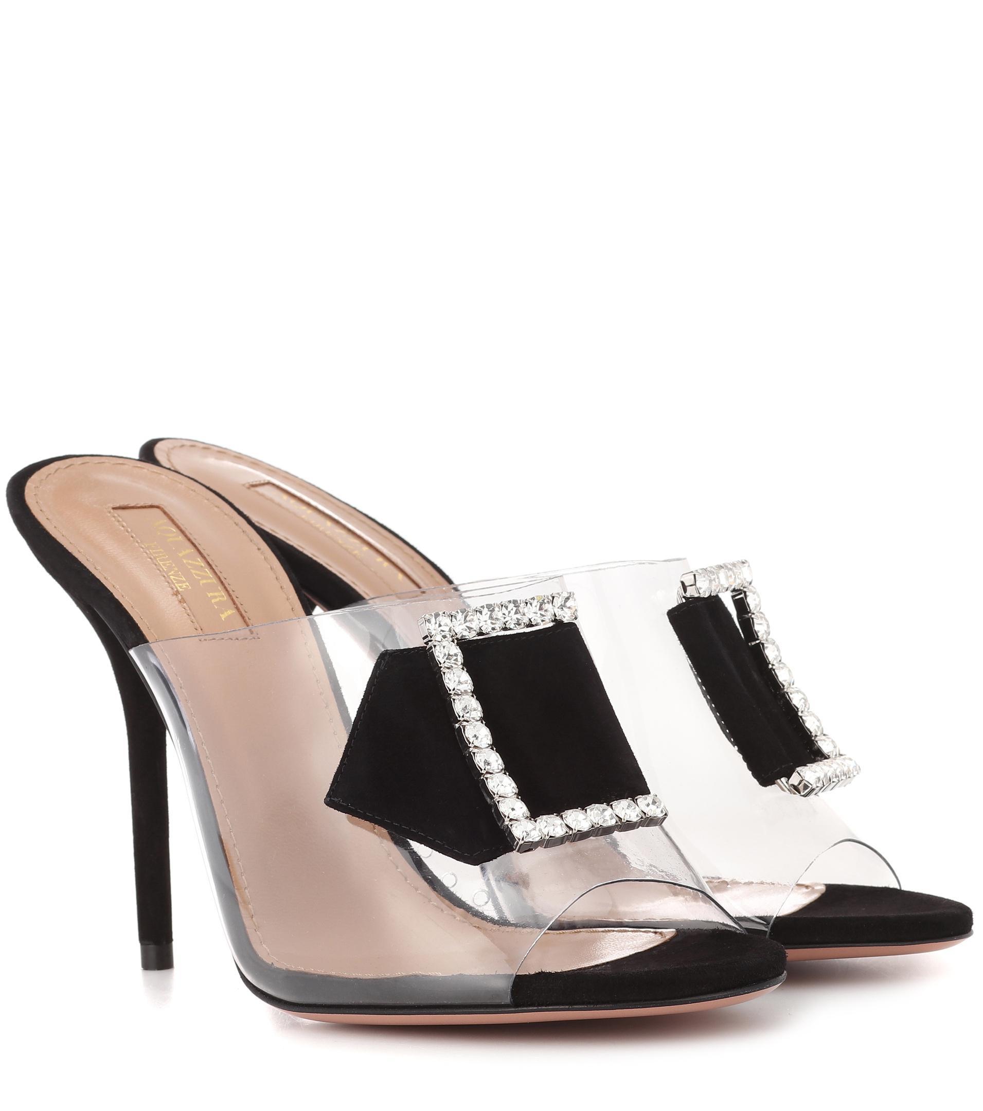 Aquazzura Sparkles 105 embellished sandals outlet the cheapest free shipping finishline 30E7t
