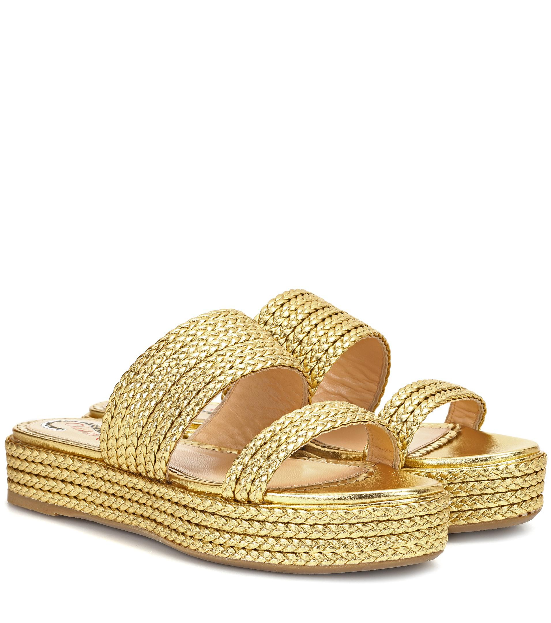 Cheap Price Wholesale Price Buy Cheap Classic Charlotte Olympia Woven jute sandals 3t9Z0wU