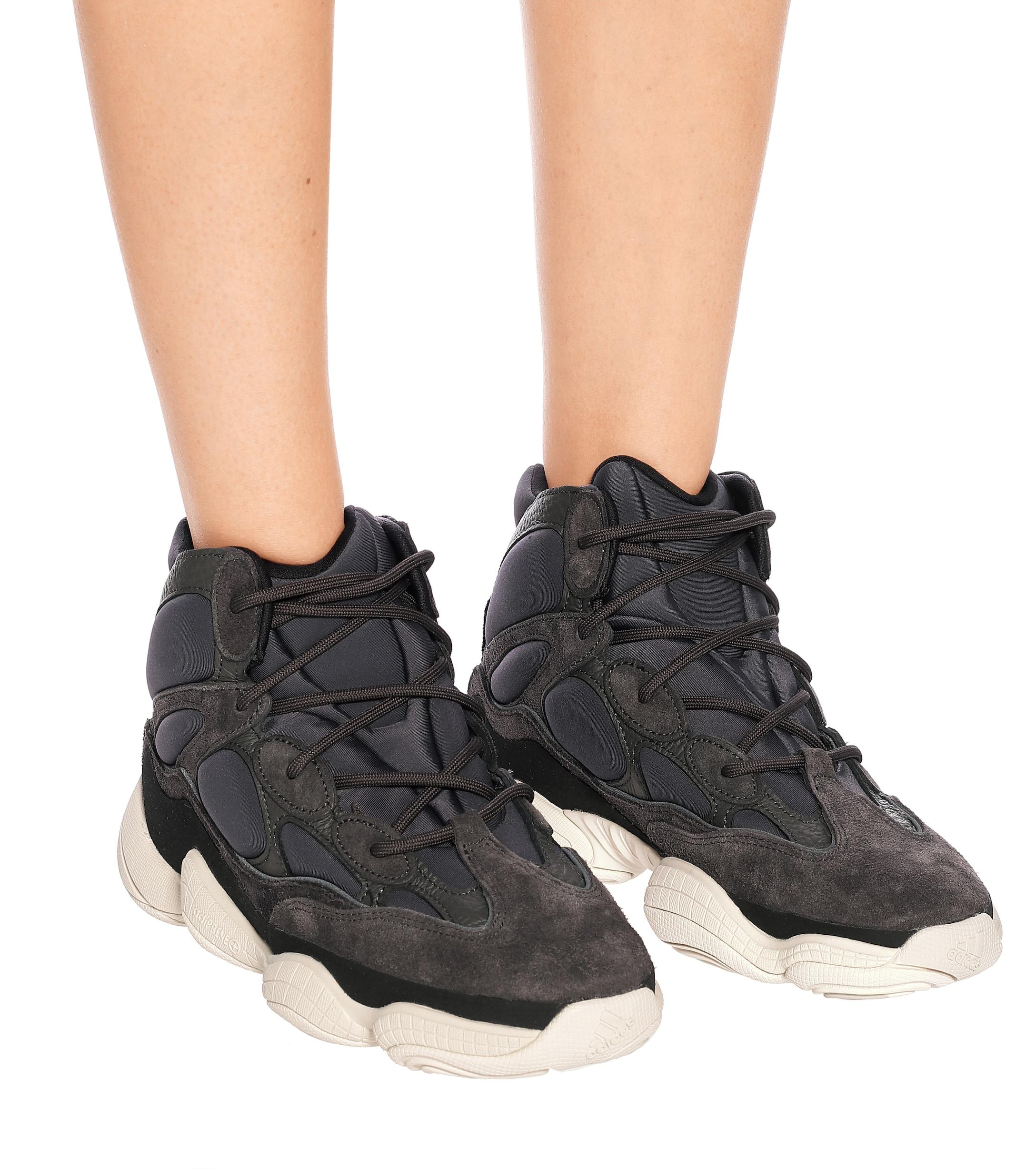 Zapatillas YEEZY 500 High adidas Originals de Caucho
