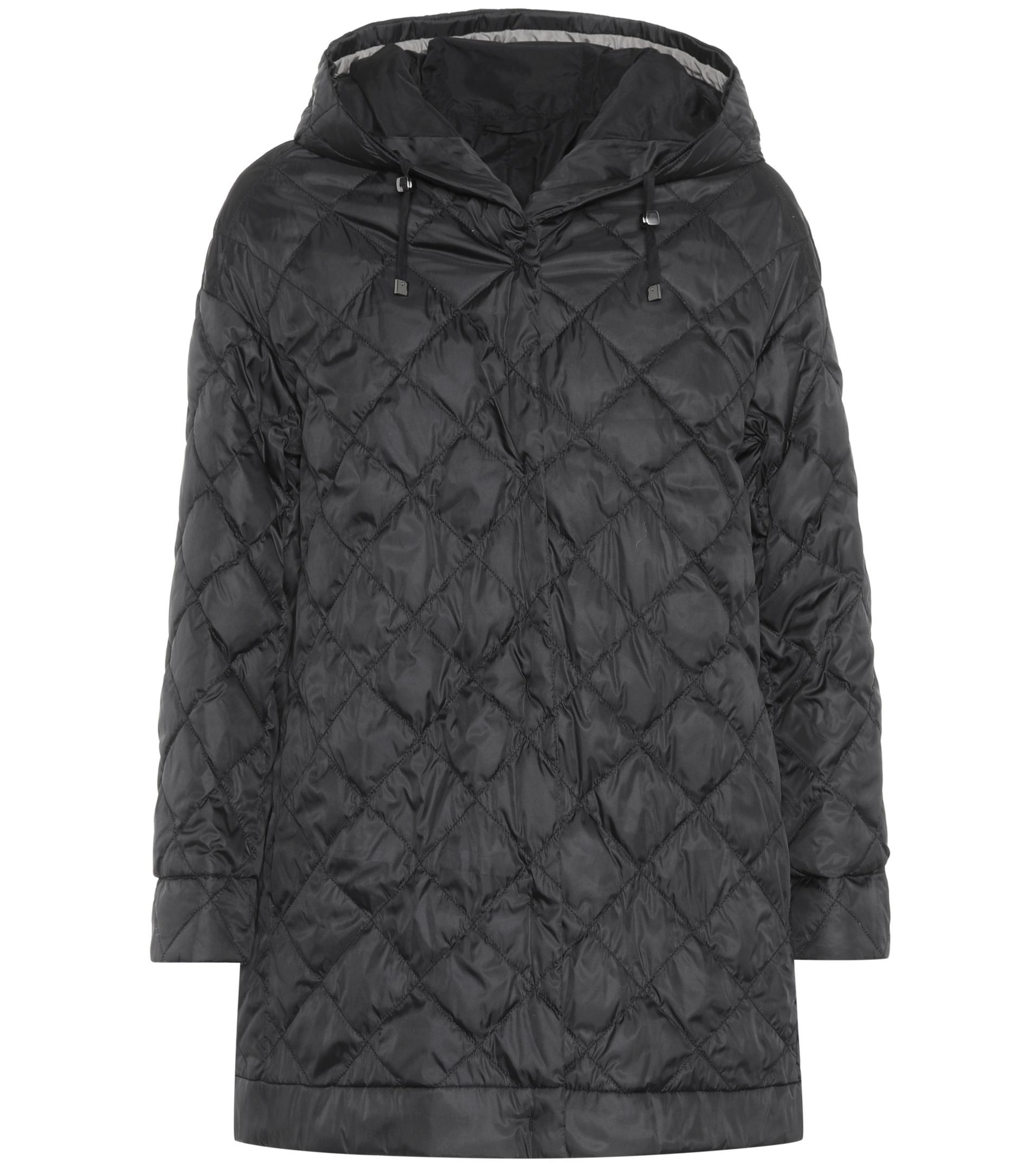 Max Mara Synthetic Enoves Quilted Jacket In Black Lyst