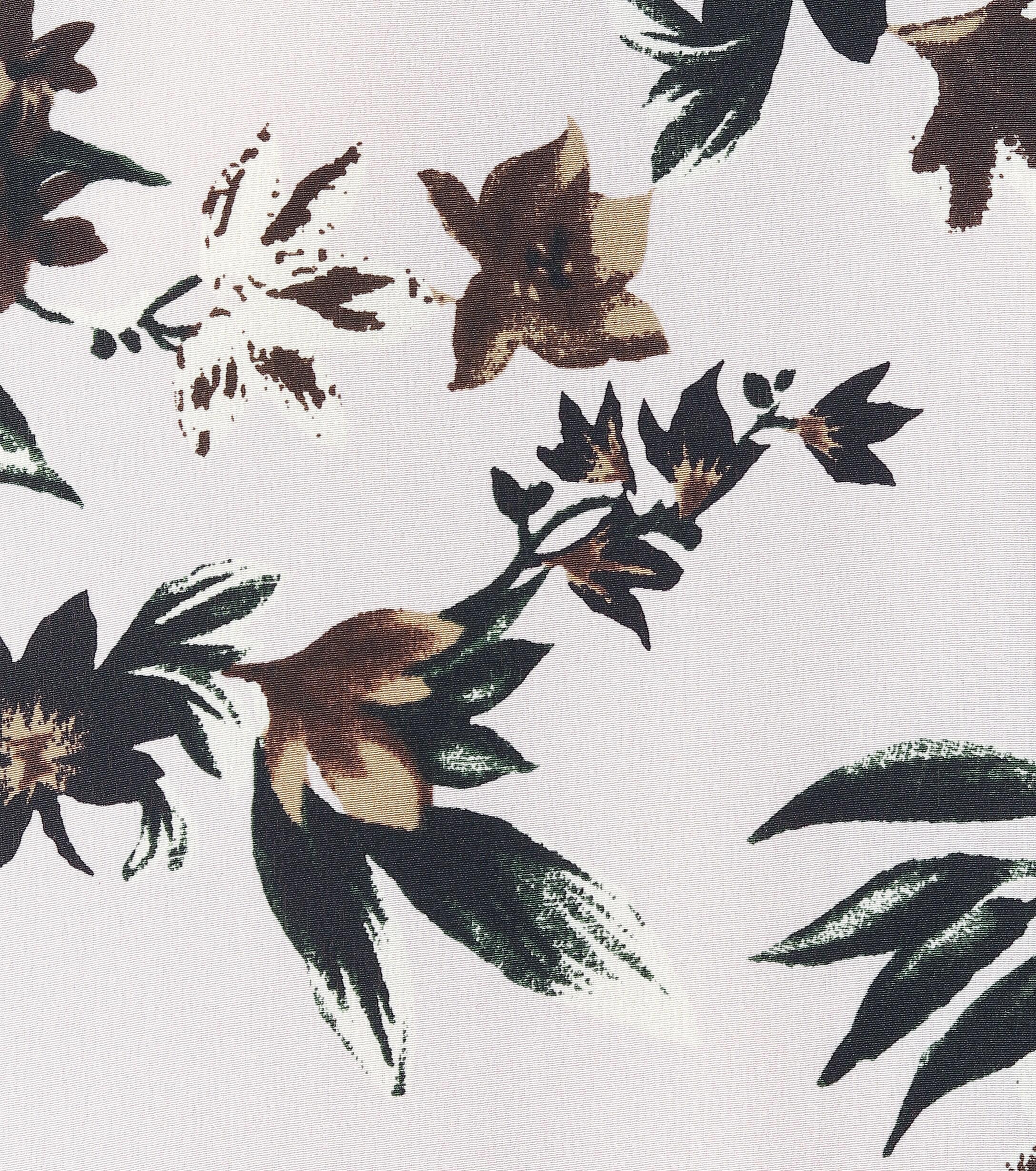 Top Diem imprimé en soie Diane von Furstenberg en coloris Violet