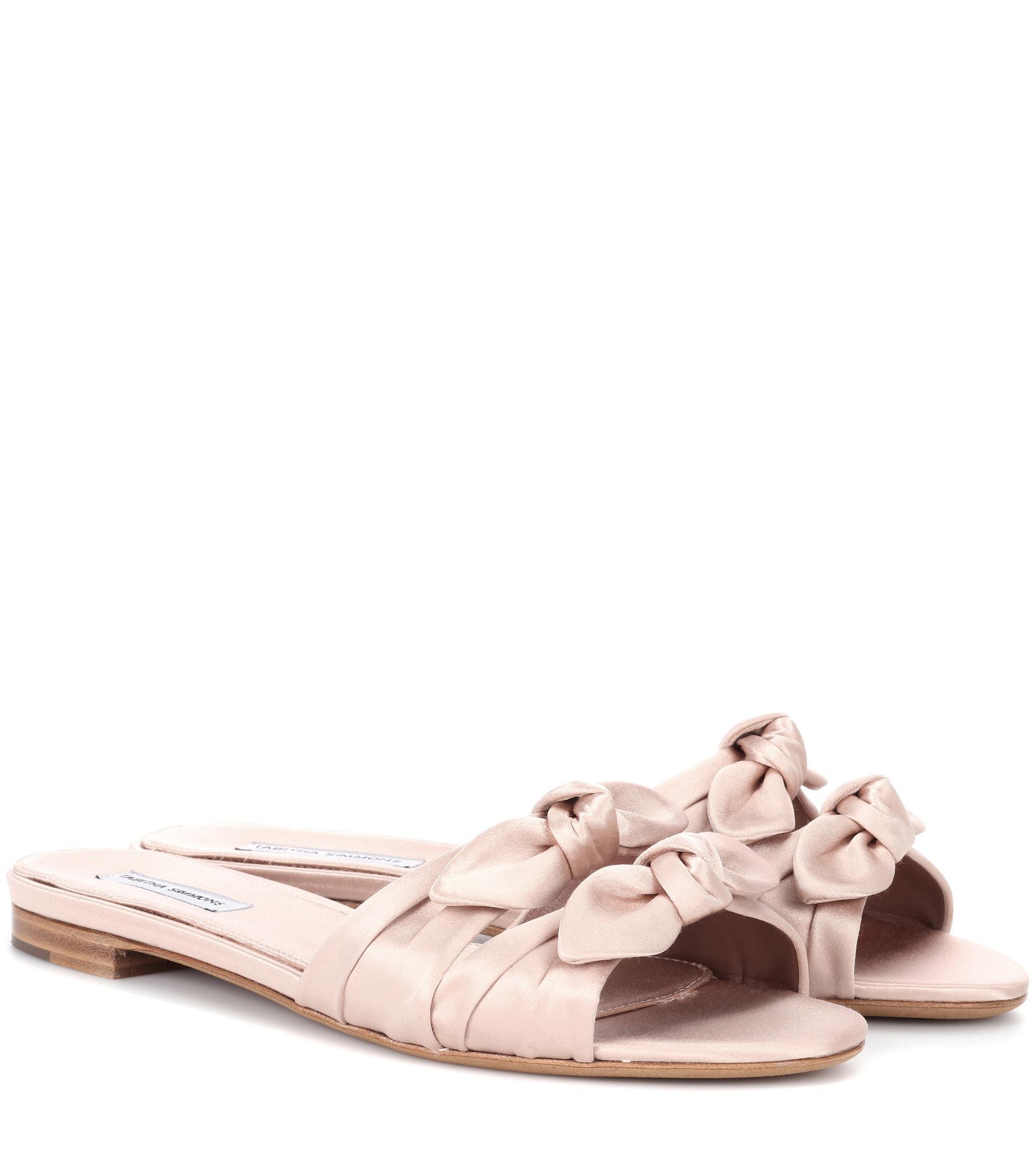 Sandales En Satin Cleo Tabitha Simmons 0OOxKeHCY