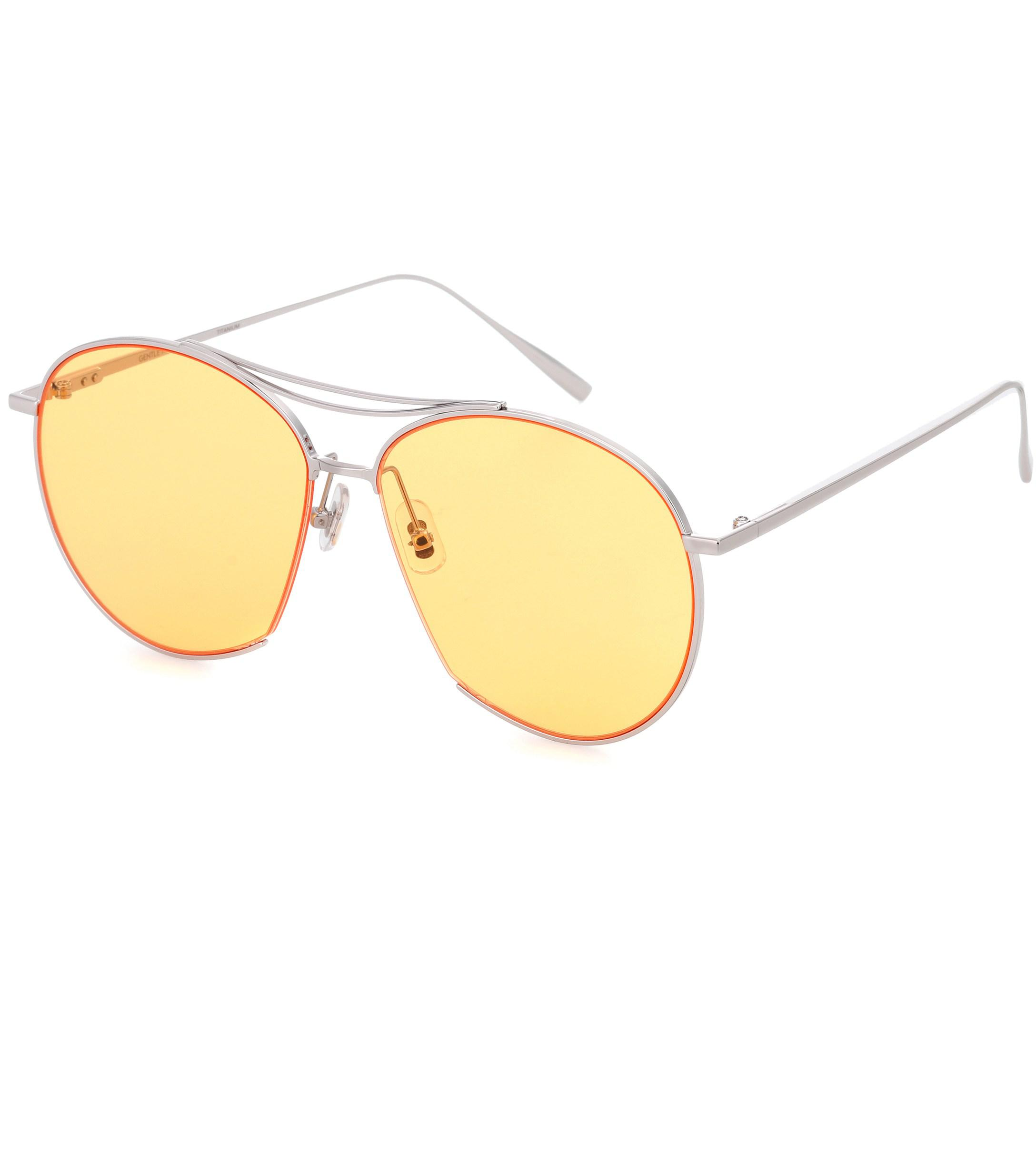 09e2bcffd4f Lyst - Gentle Monster Jumping Jack Aviator Sunglasses in Yellow