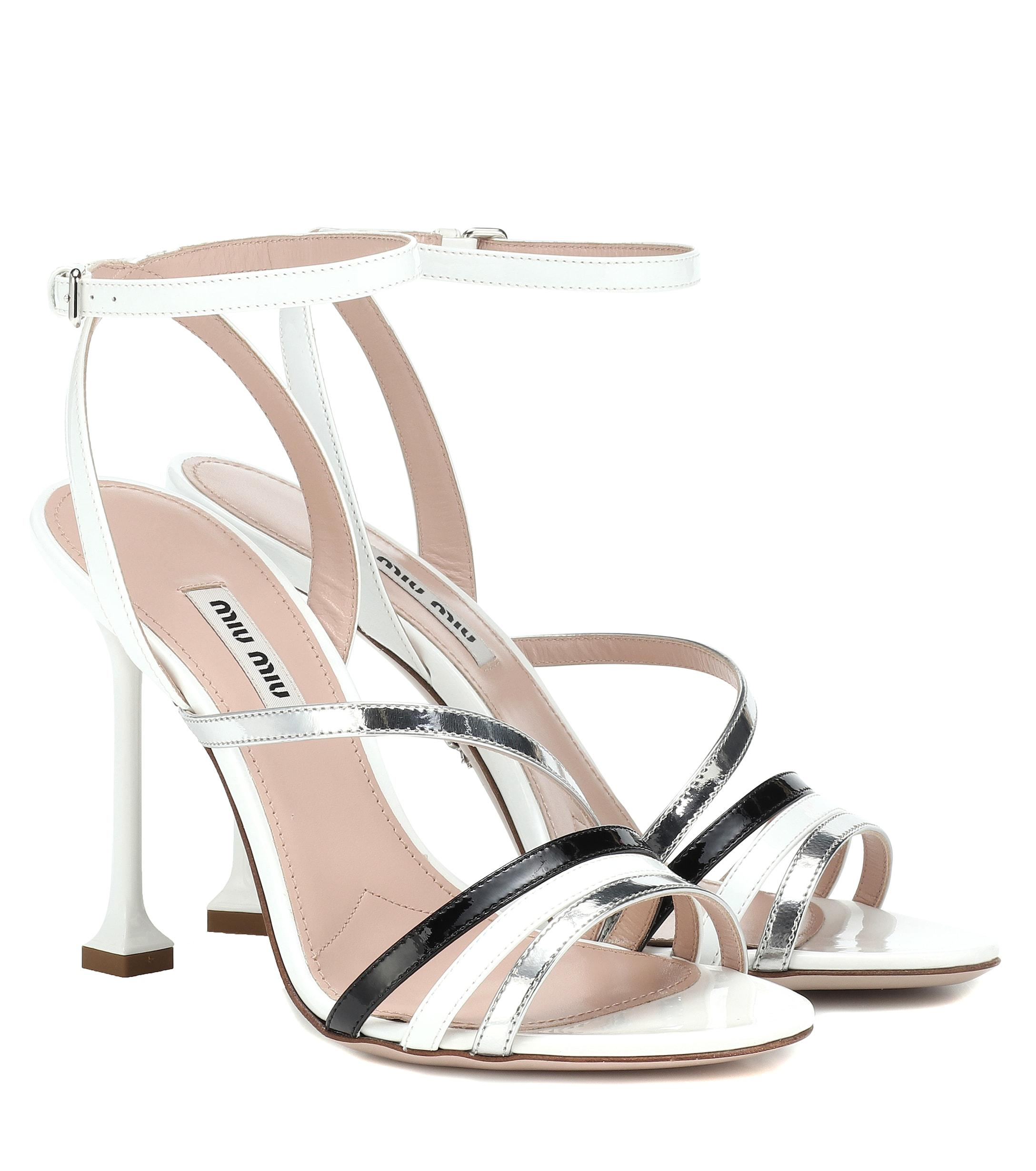 c8f6dce9cd1e Miu Miu. Women s Patent Leather Sandals.  750 From Mytheresa. Free shipping  ...