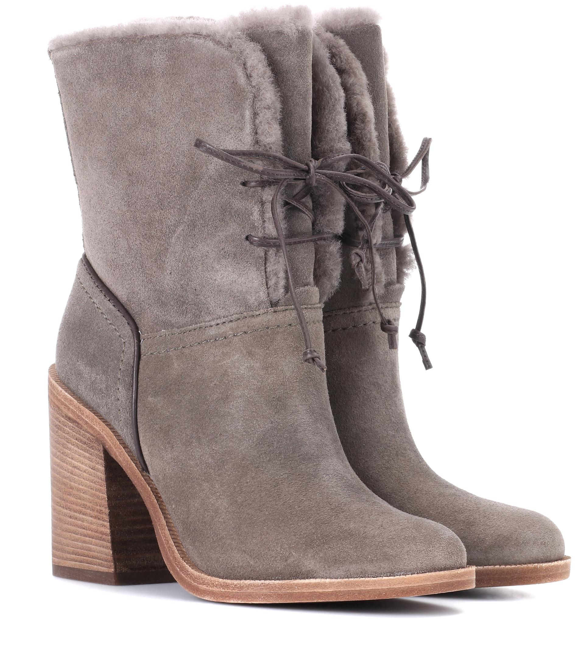 Visit New Cheap Price UGG Jerene suede ankle boots Clearance Low Cost Hot Sale Cheap Price Hot Sale rVnZ6Ca