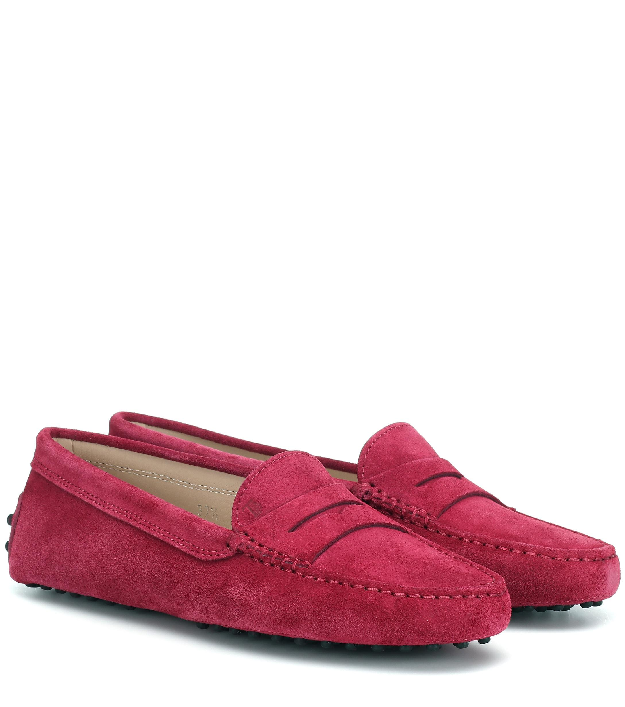d4b727622c7 Tod s. Women s Gommino Suede Loafers
