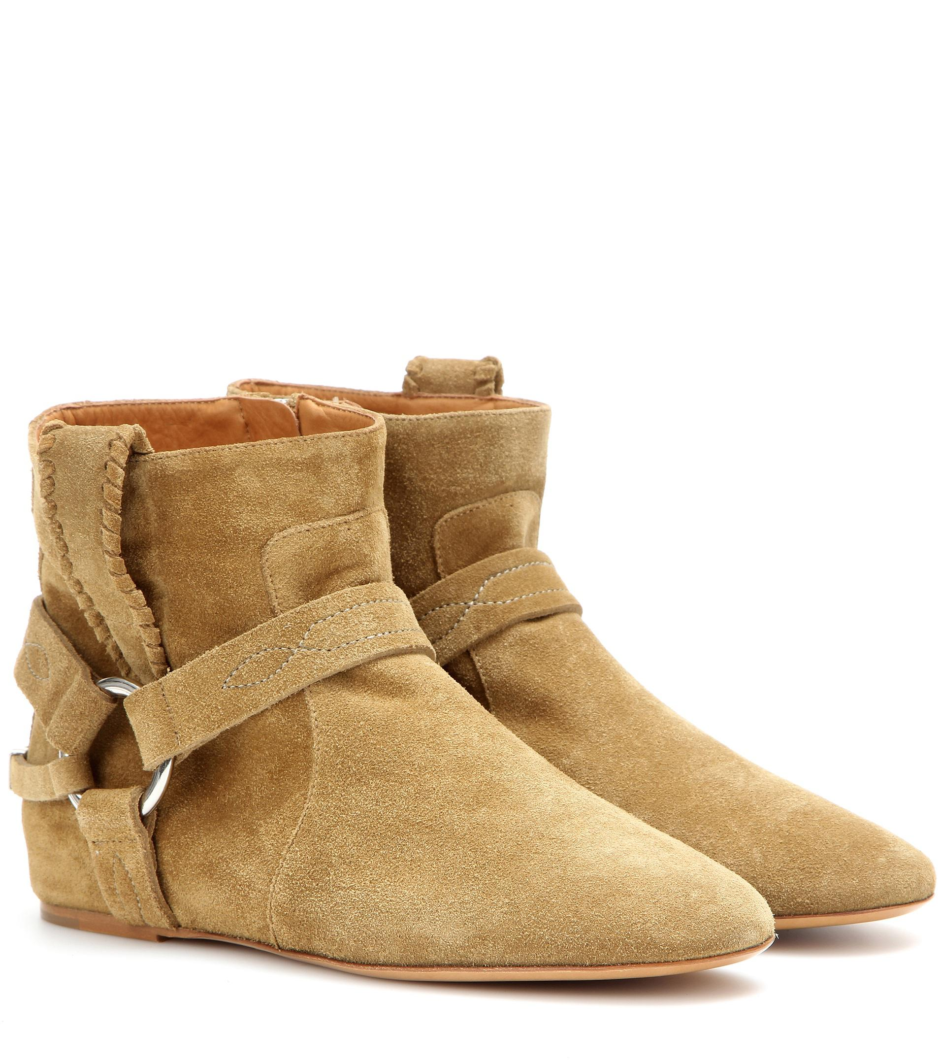 Isabel Marant Ringal suede ankle boots CMyk7OiHjY