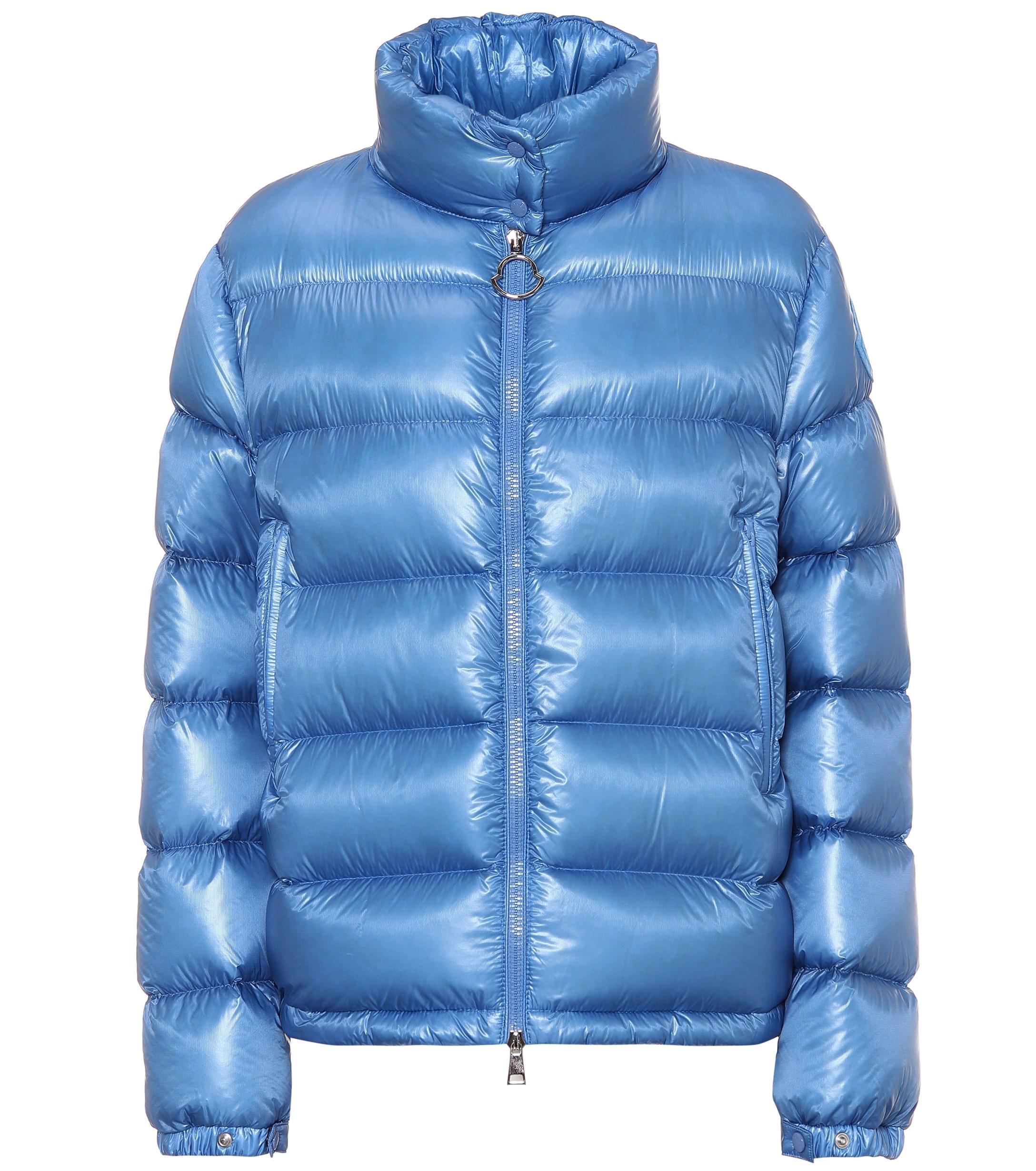 727537c07 Women's Blue Copenhague High Neck Down Filled Coat