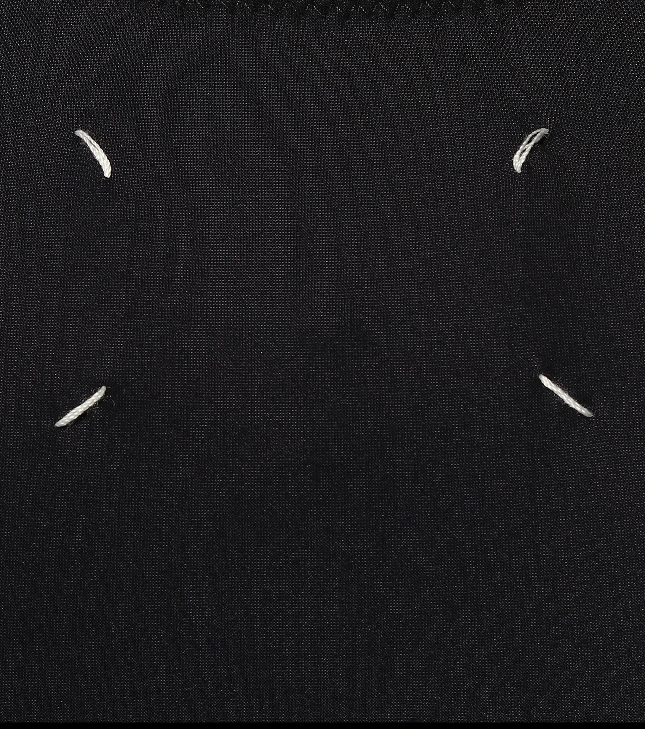 Body de punto fino elastizado Maison Margiela de color Negro