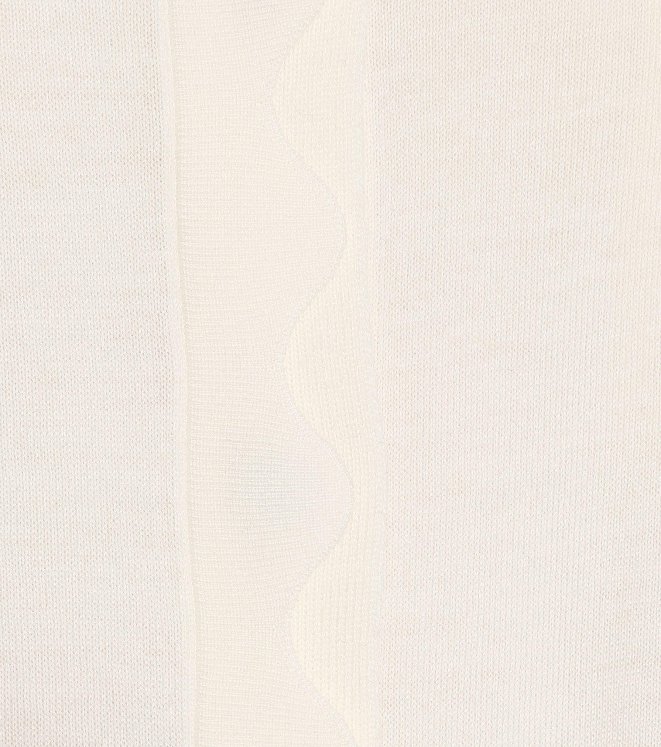 Cardigan en laine Laines Chloé en coloris Blanc