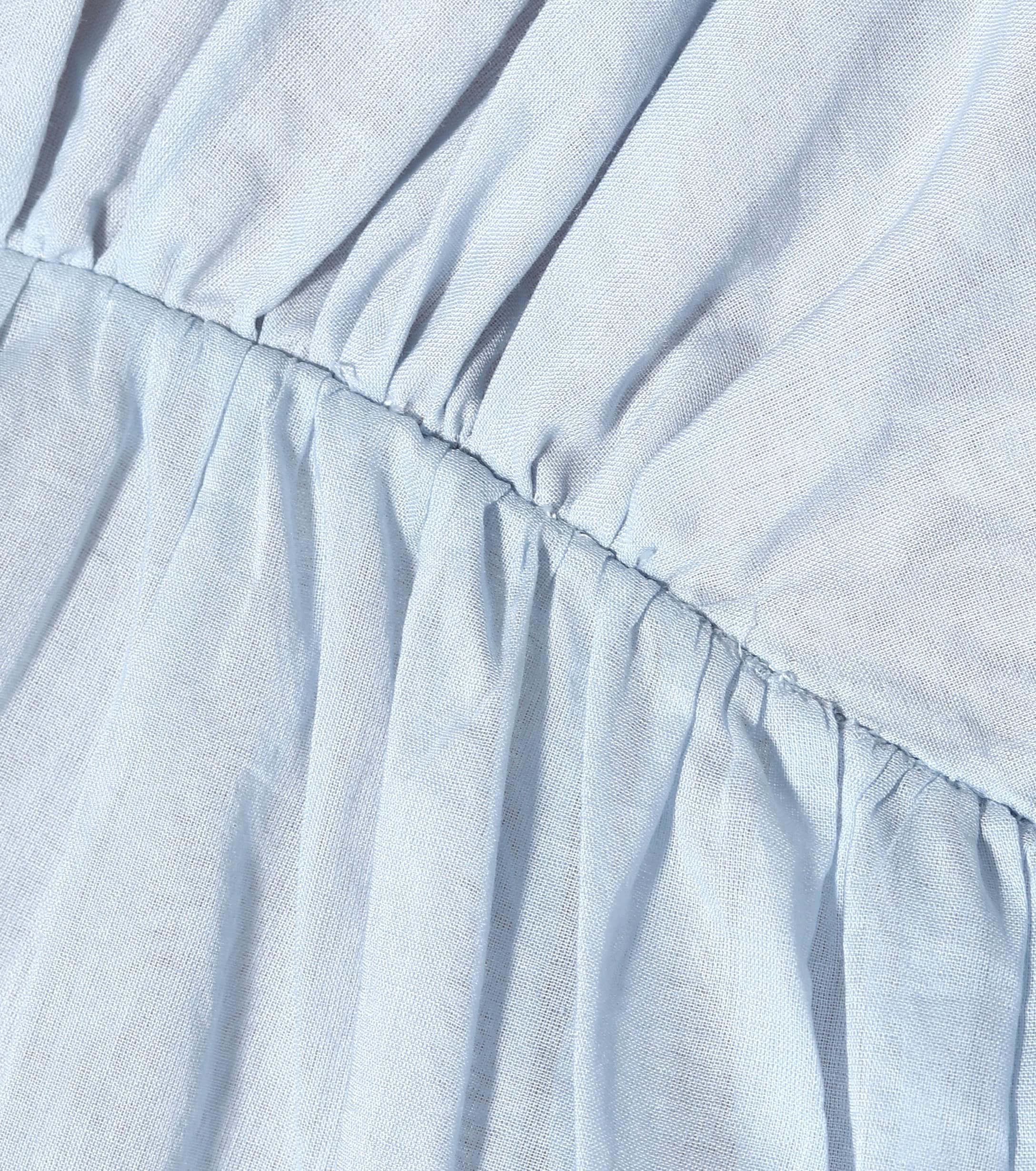 Vestido Aphrodite Cloud Day Kalita de Algodón de color Azul