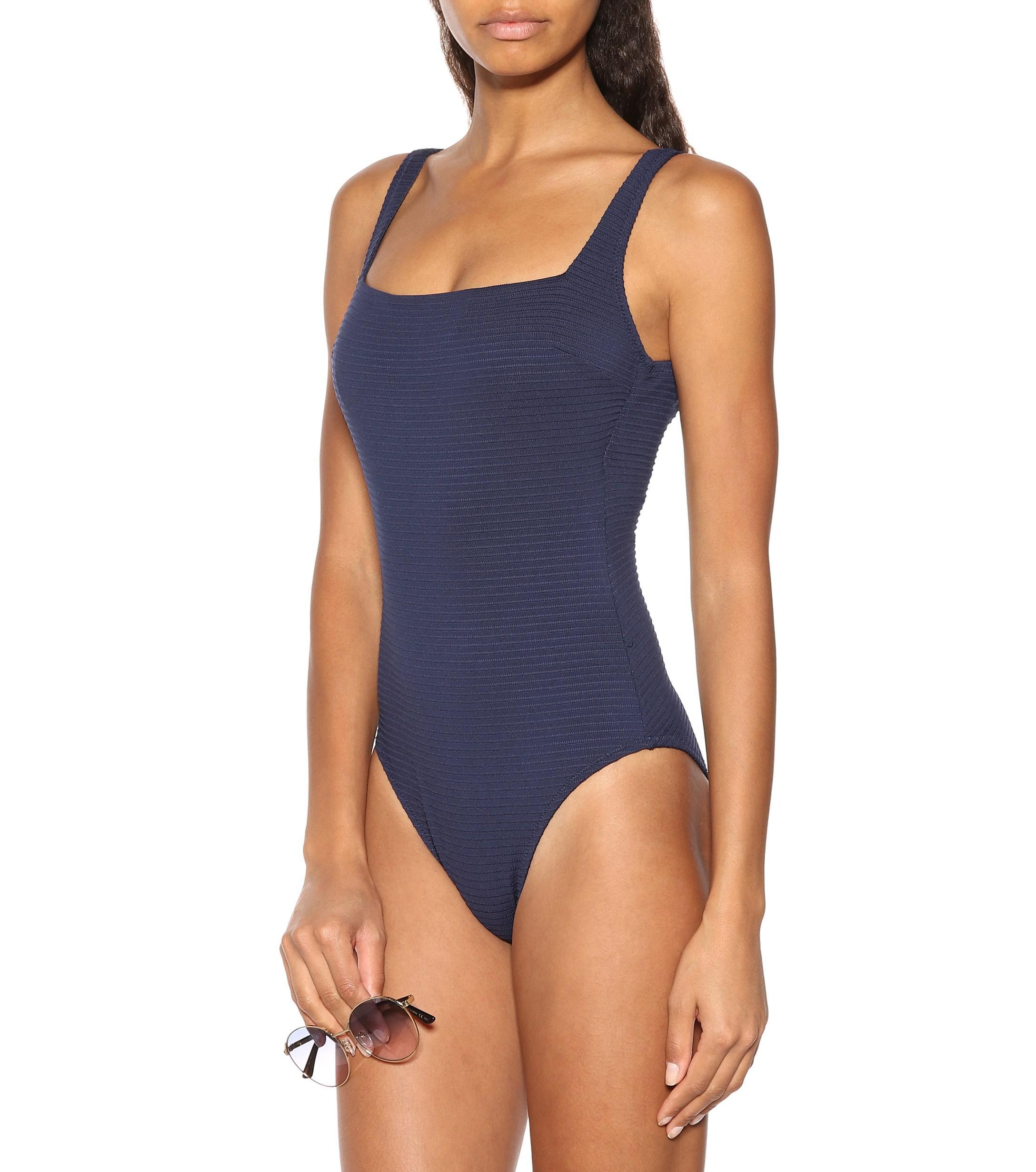 aaf92074dda Lyst - Heidi Klein Carlisle Bay Swimsuit in Blue
